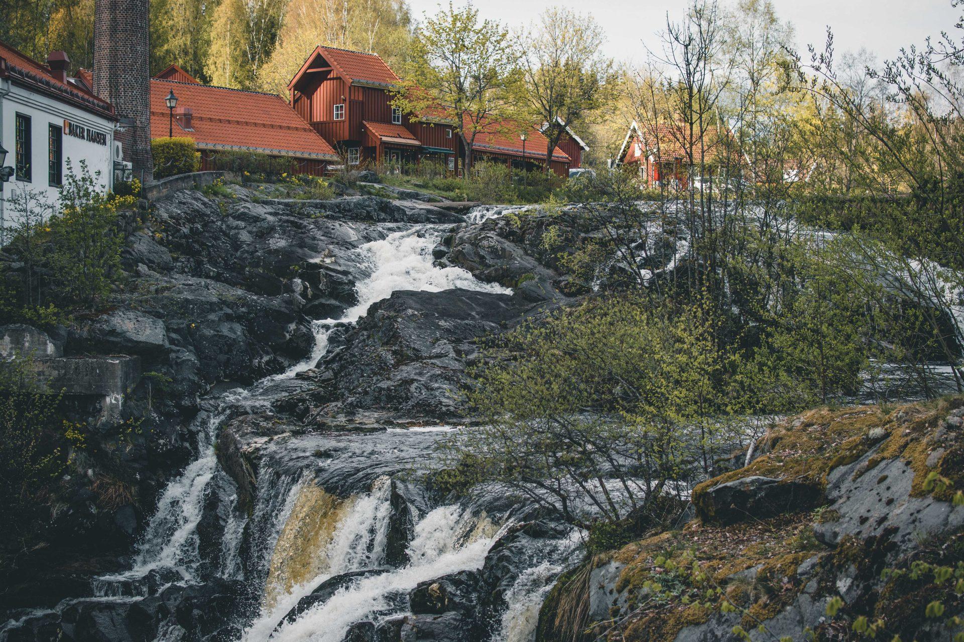 wodospad okolice Oslo