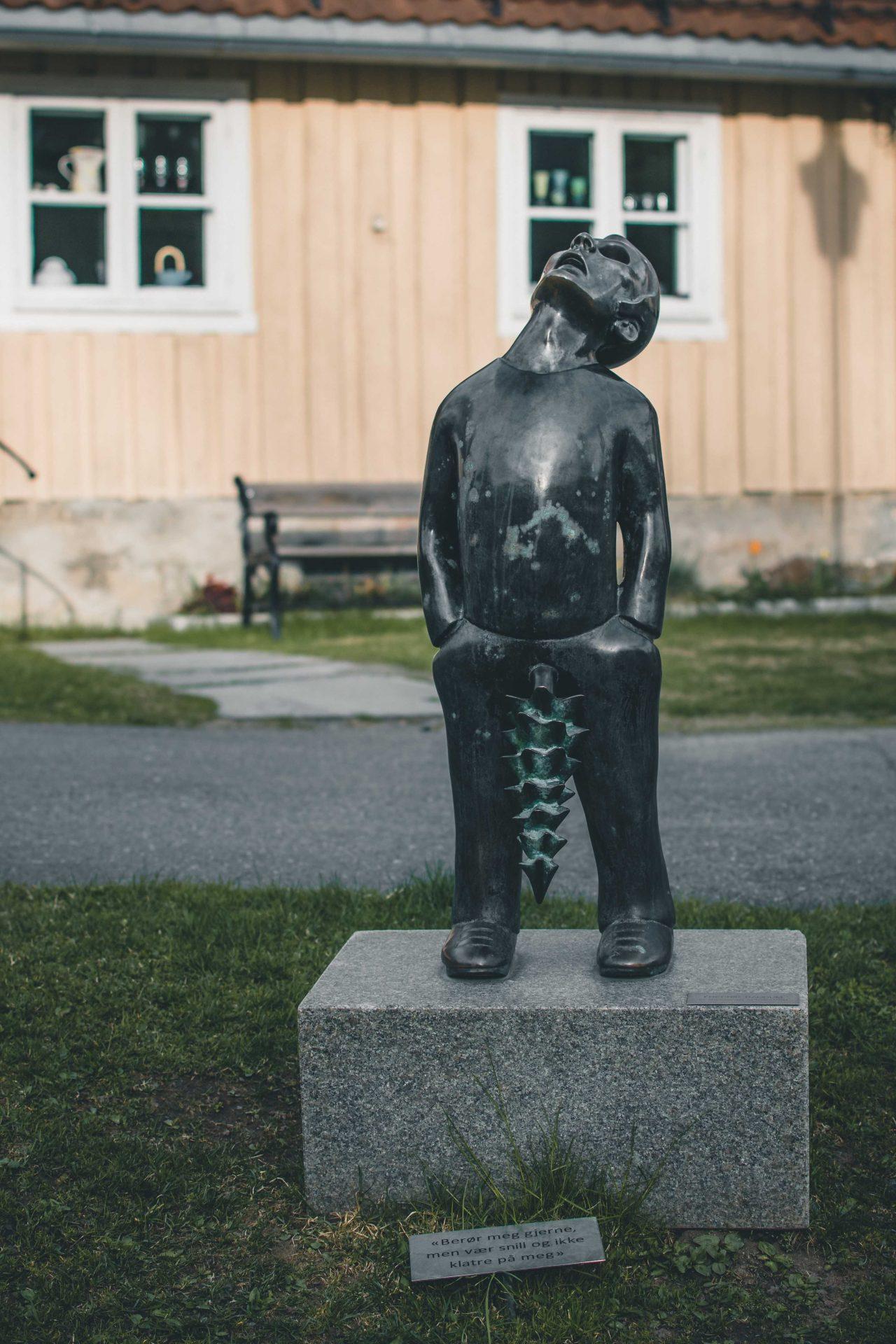 norweskie rzeźby