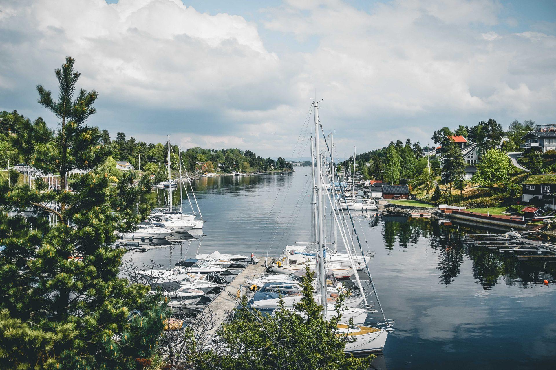 wyspy wokolicach Oslo