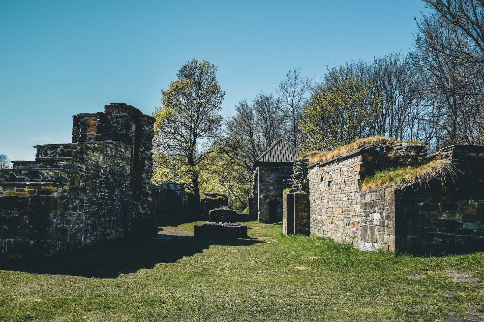 Hovedøya ruiny klasztoru