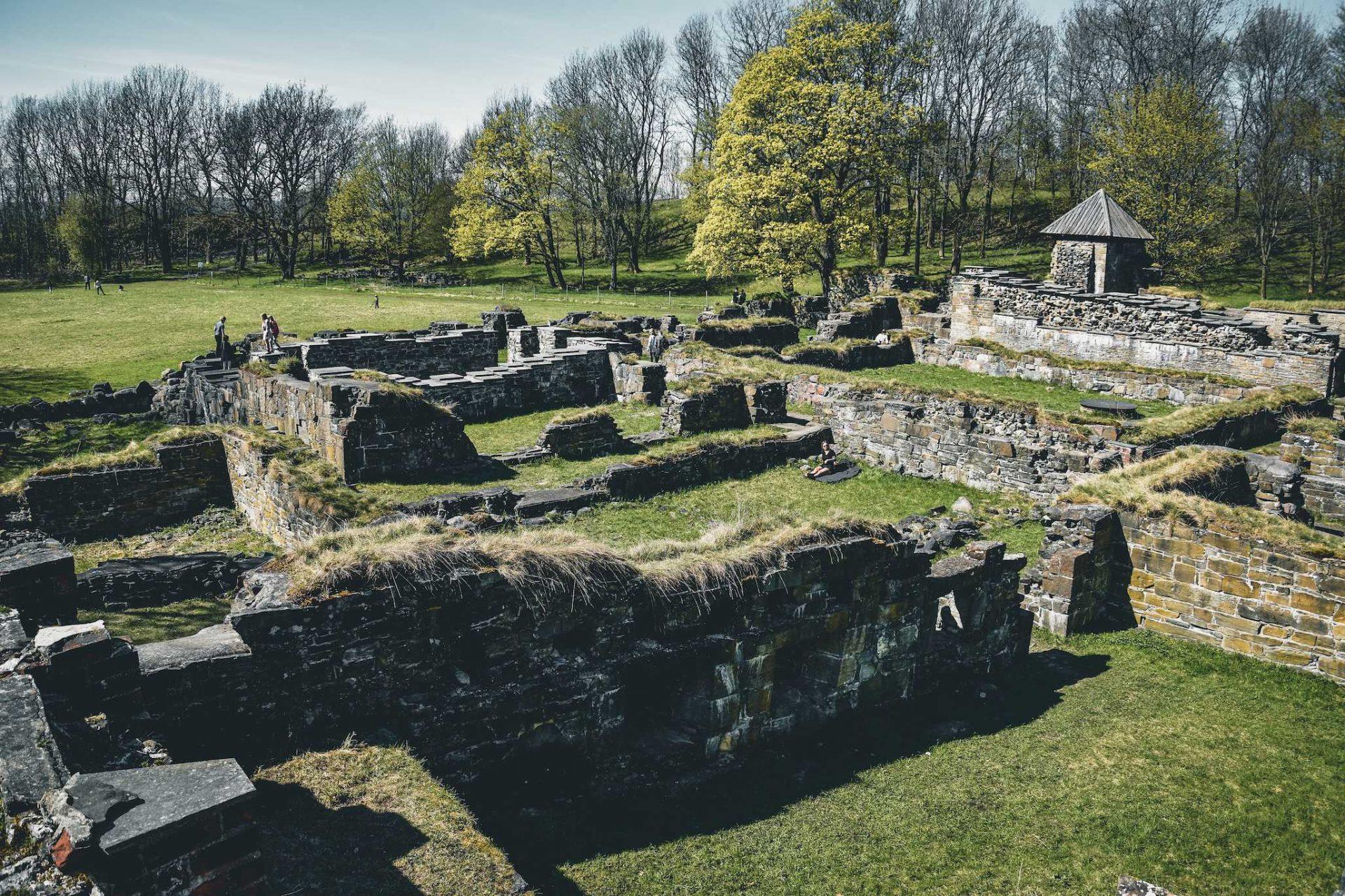 ruiny klasztoru Oslo