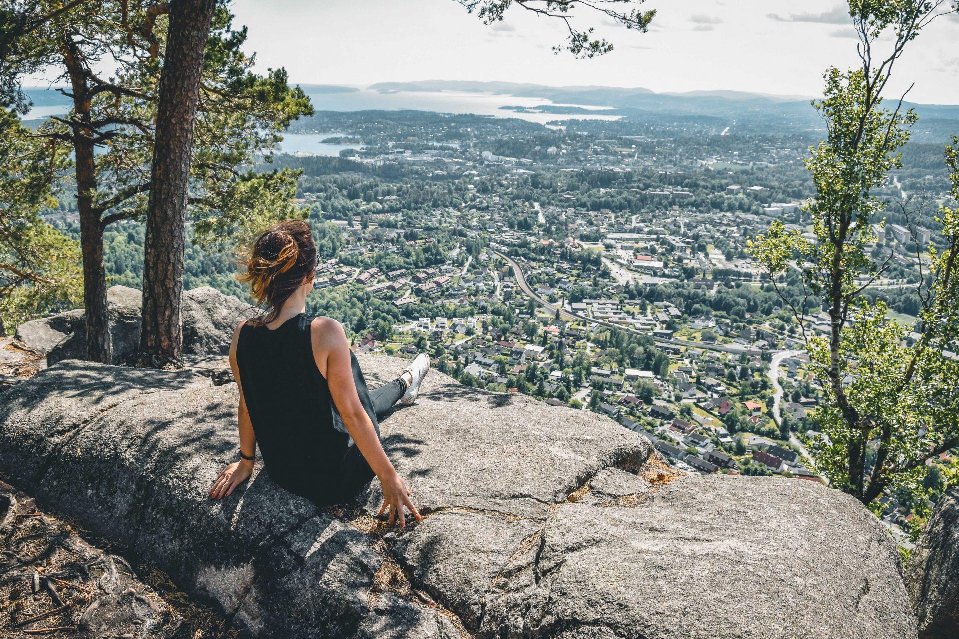 wspinaczka okolice Oslo