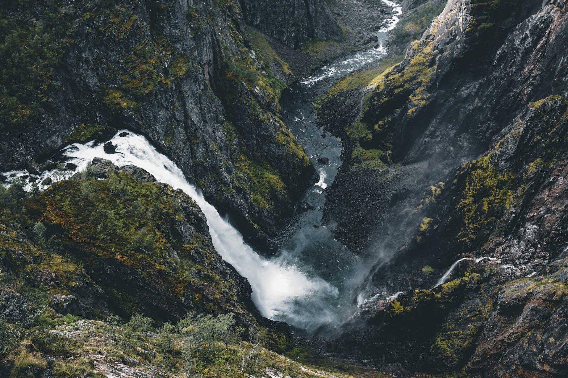 wodospad Voringsfossen
