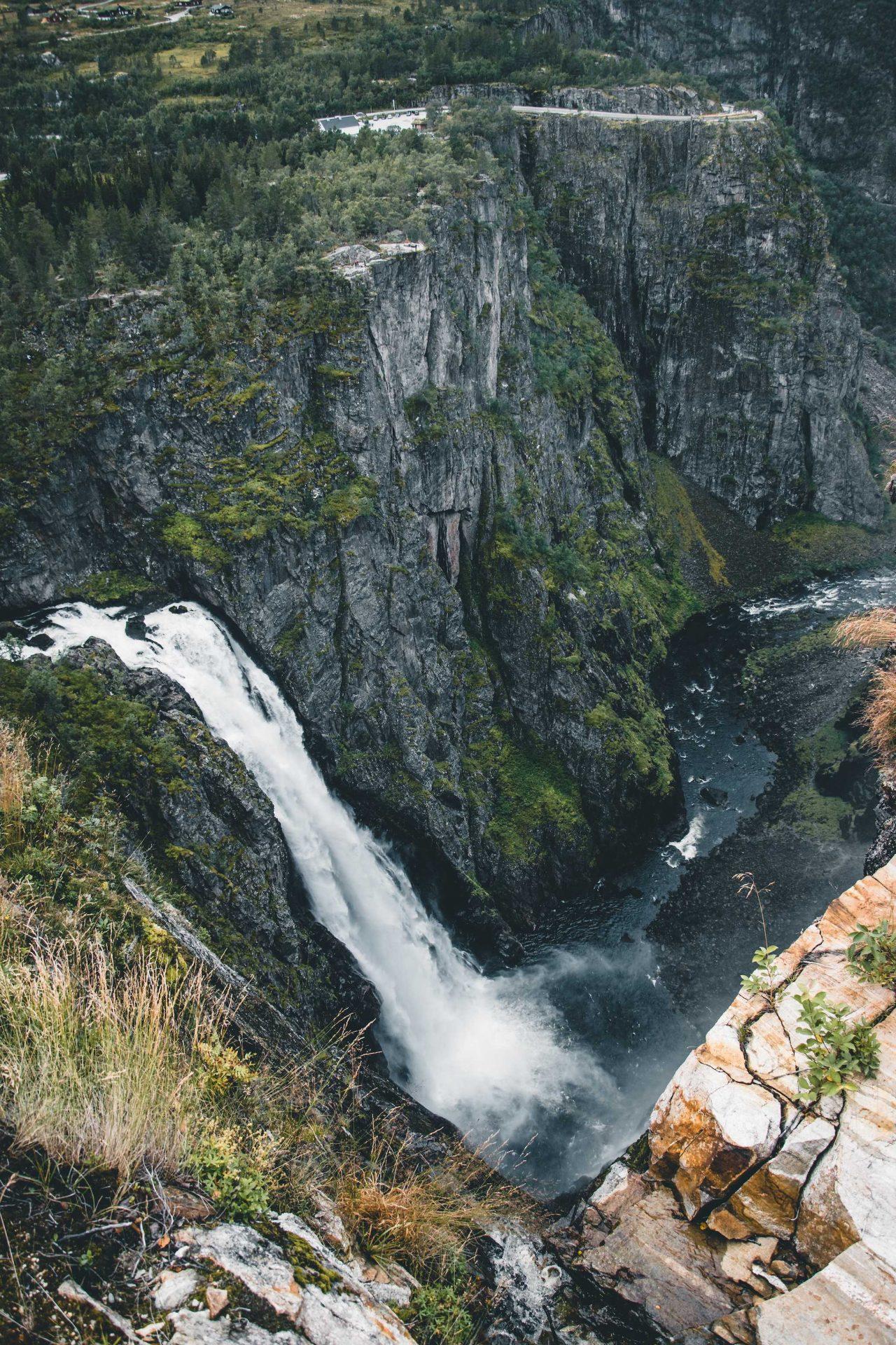 wodospad Vøringsfossen