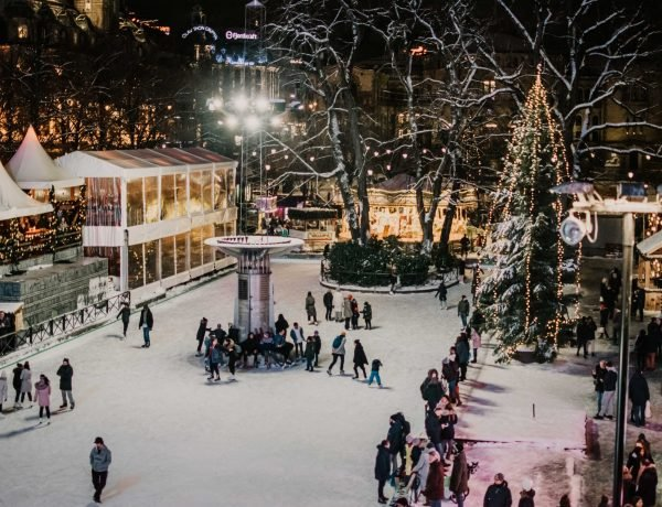 jarmark bożonarodzeniowy w Oslo
