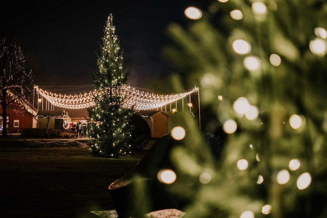 Jarmark bożonarodzeniowy w Baerums Verk