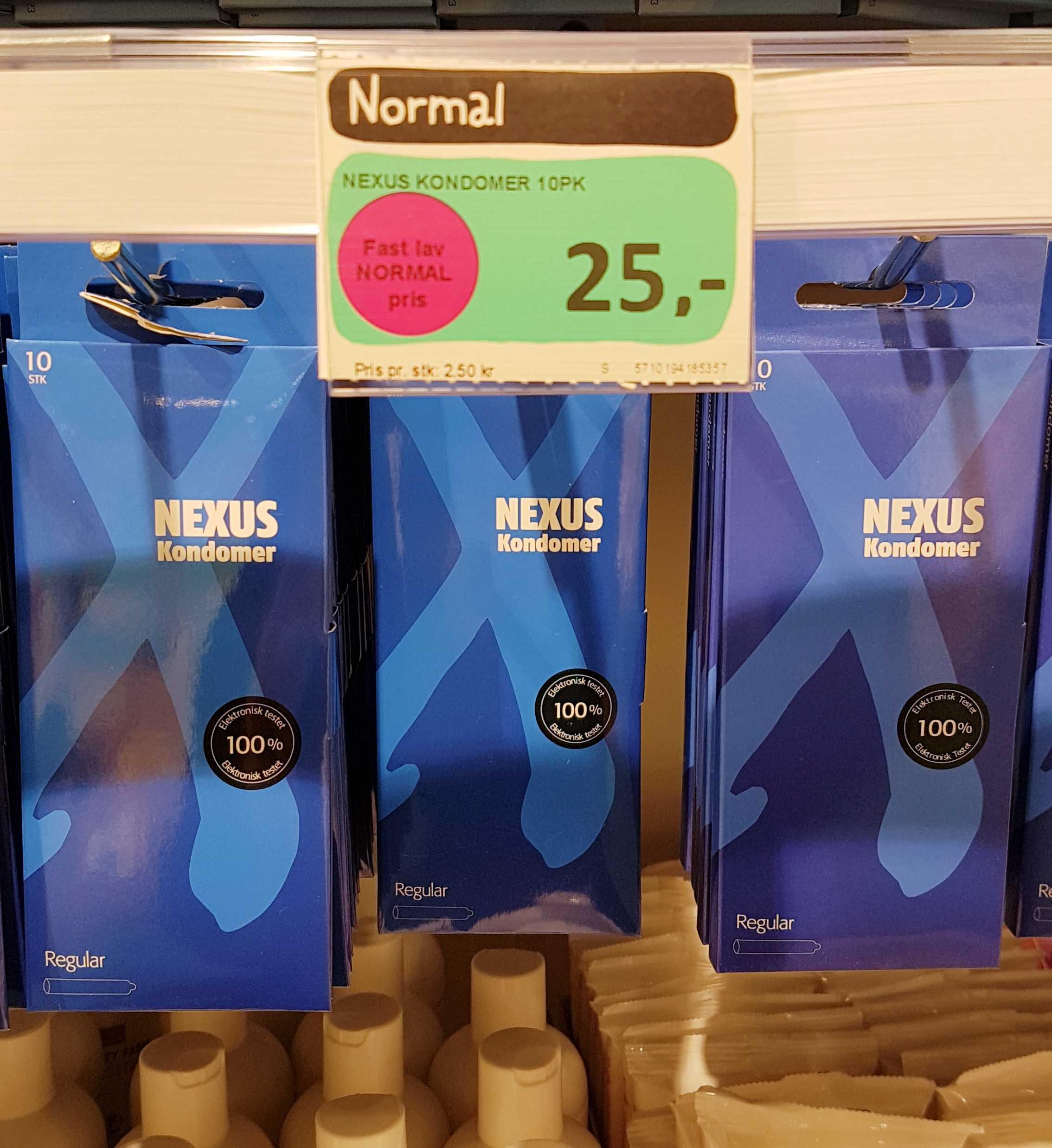 cena prezerwatyw wNorwegii
