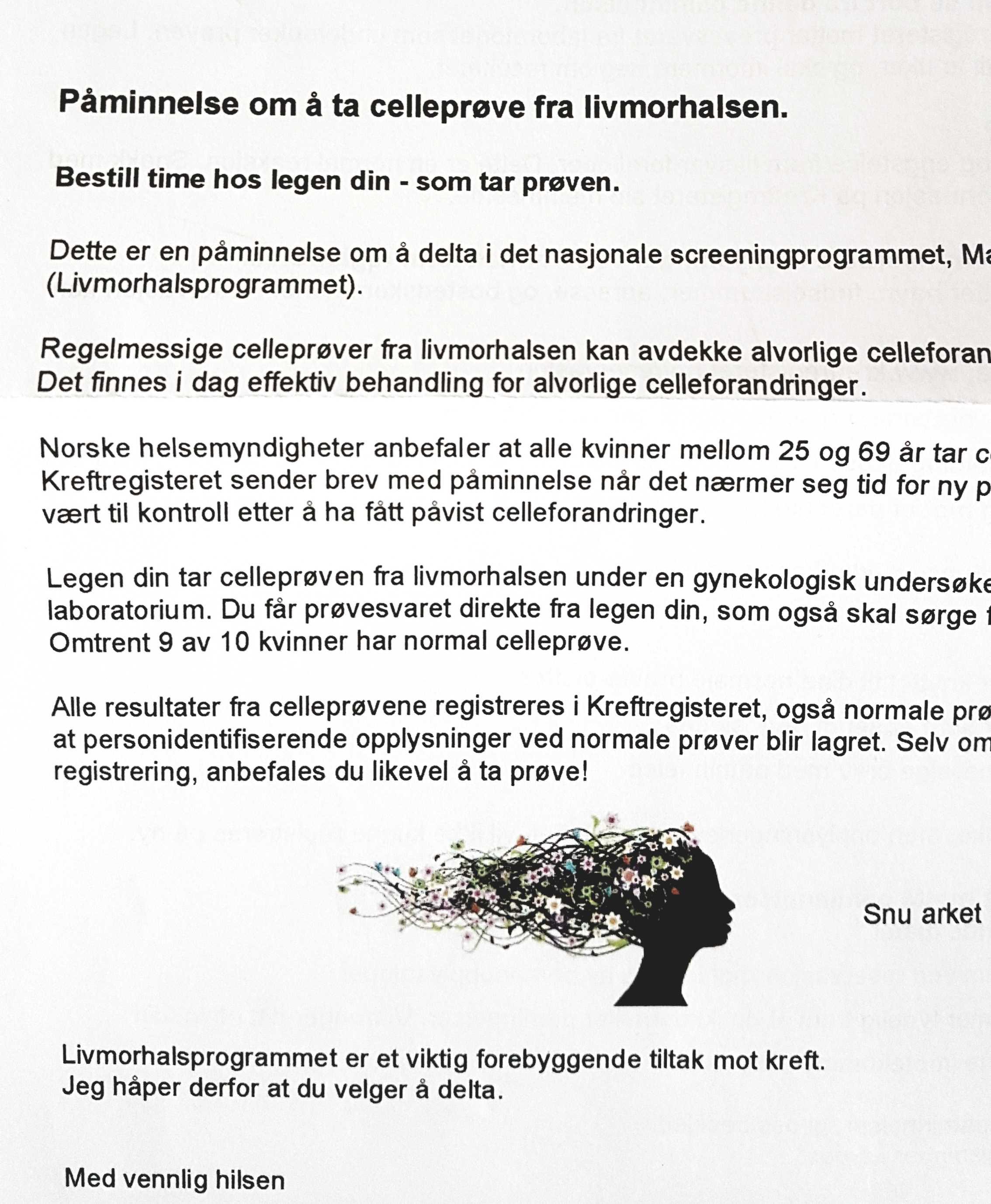 cytologia wNorwegii