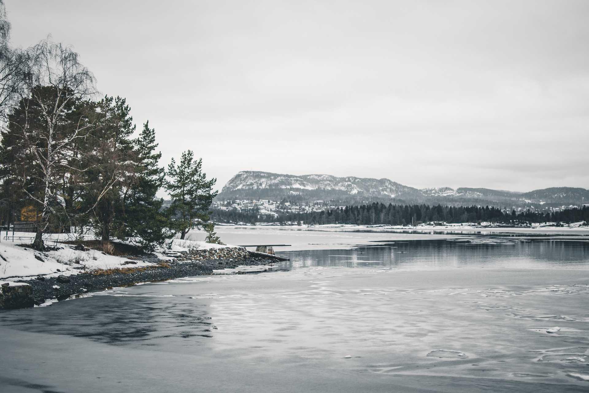 fajne widoki blisko Oslo
