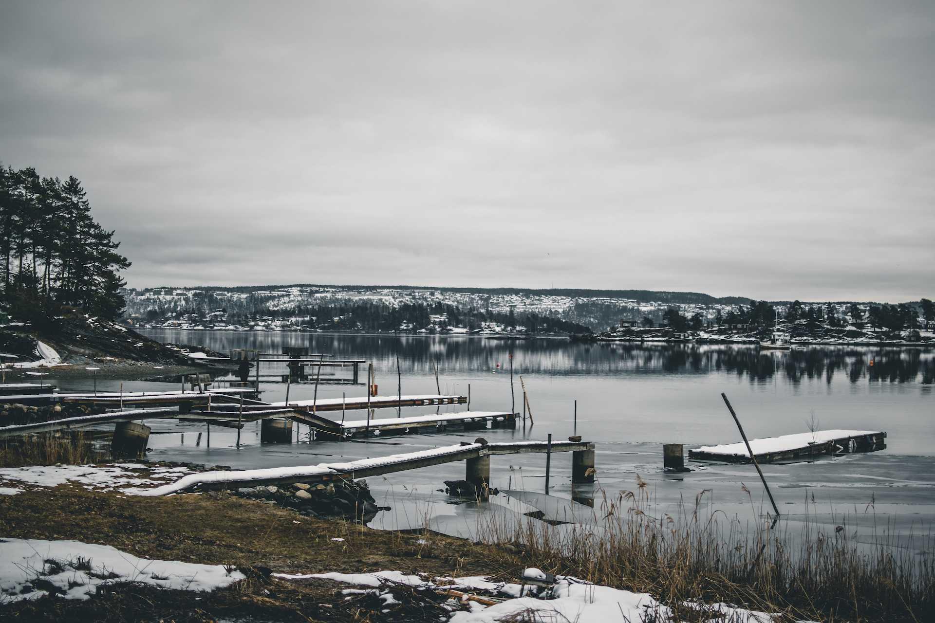 wyspy naOslofjord