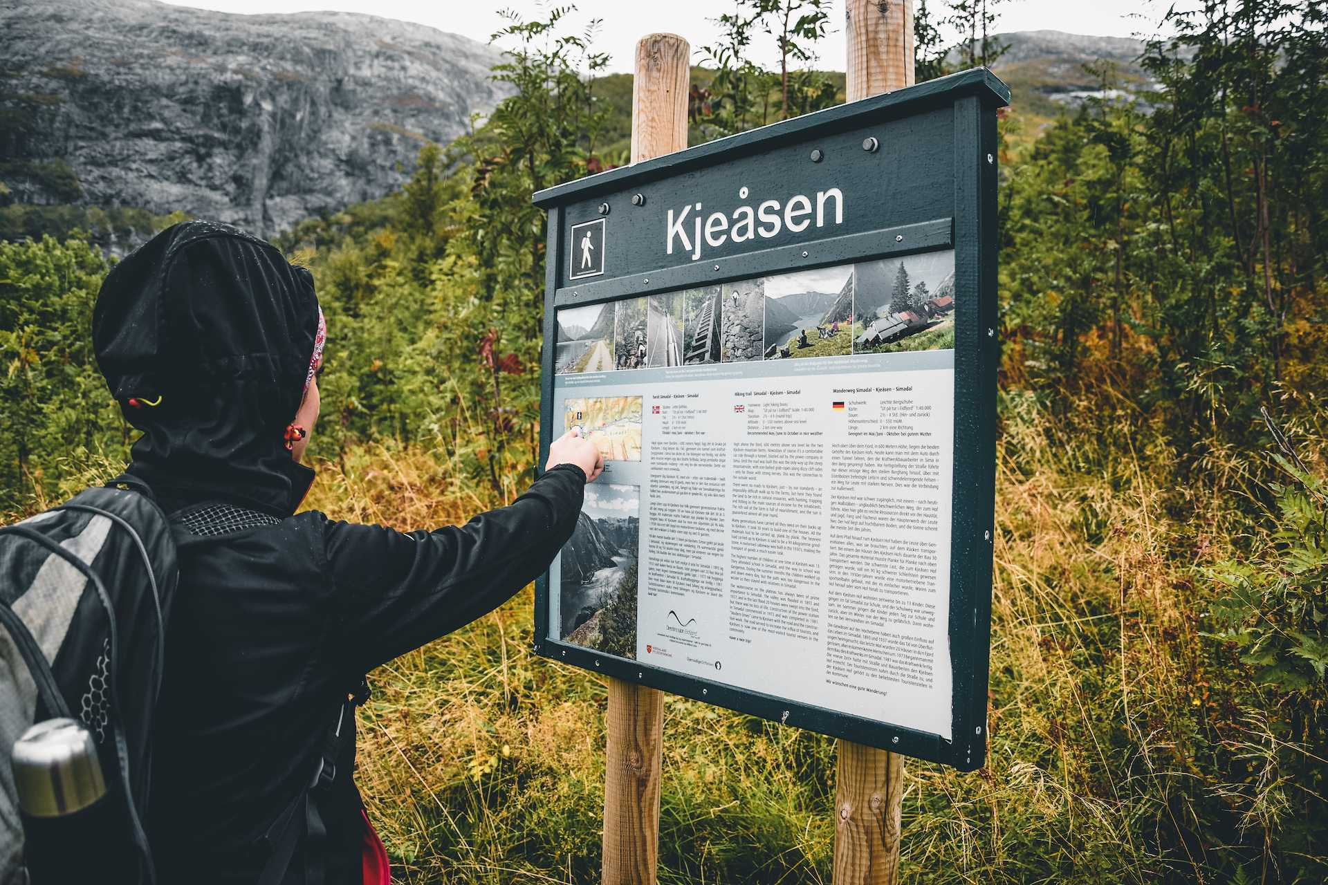 szlaki wNorwegii