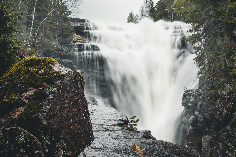 wodospad wokolicach Oslo