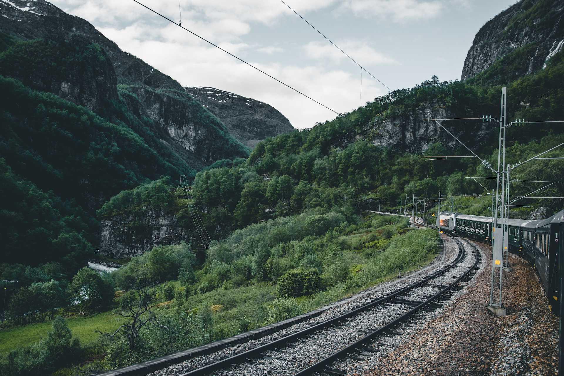 pociągi wNorwegii