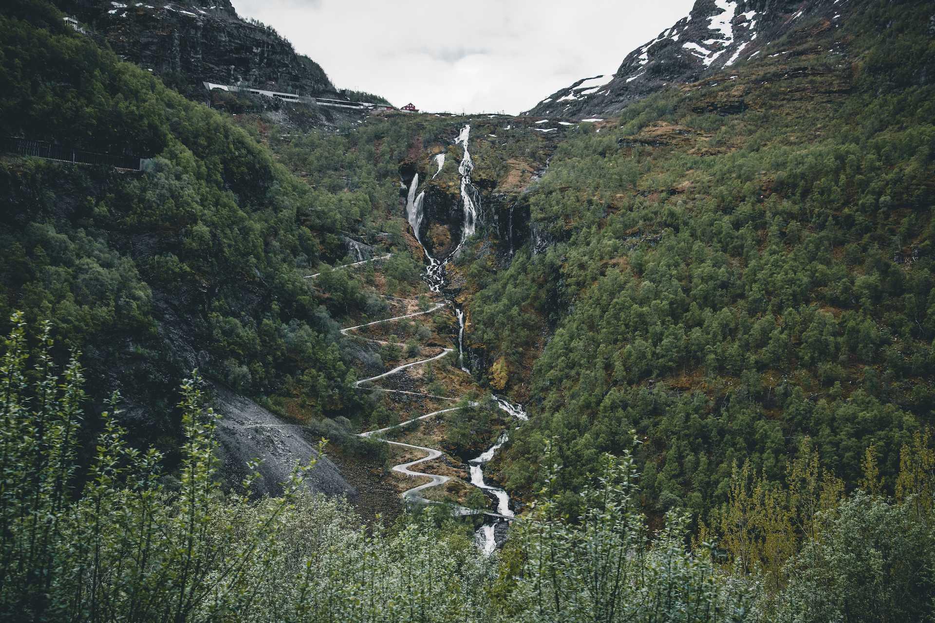 trasy kolejowe Norwegia