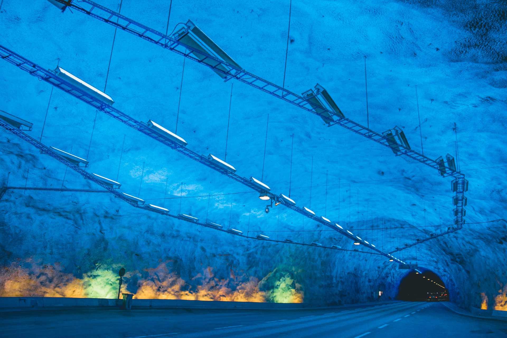 Tunel wLærdal