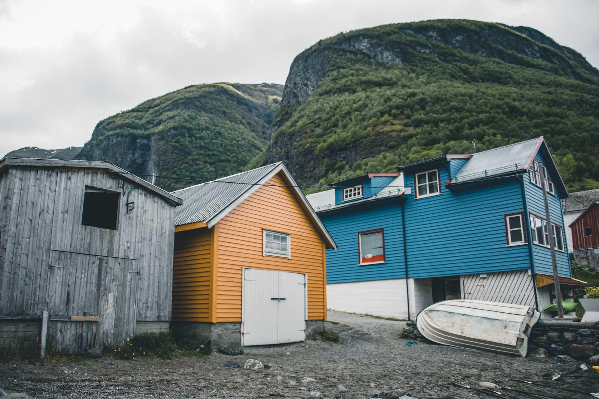 norwegia wakacje nawłasną rękę
