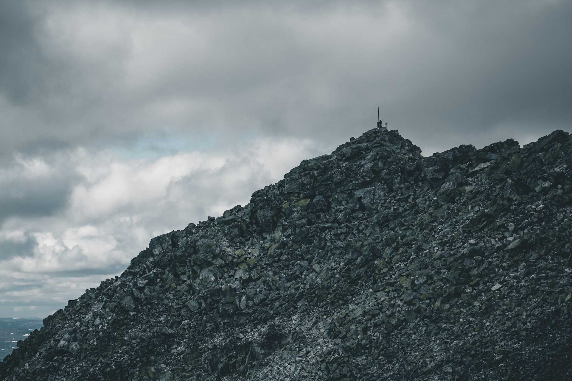 szczyt Gaustatoppen