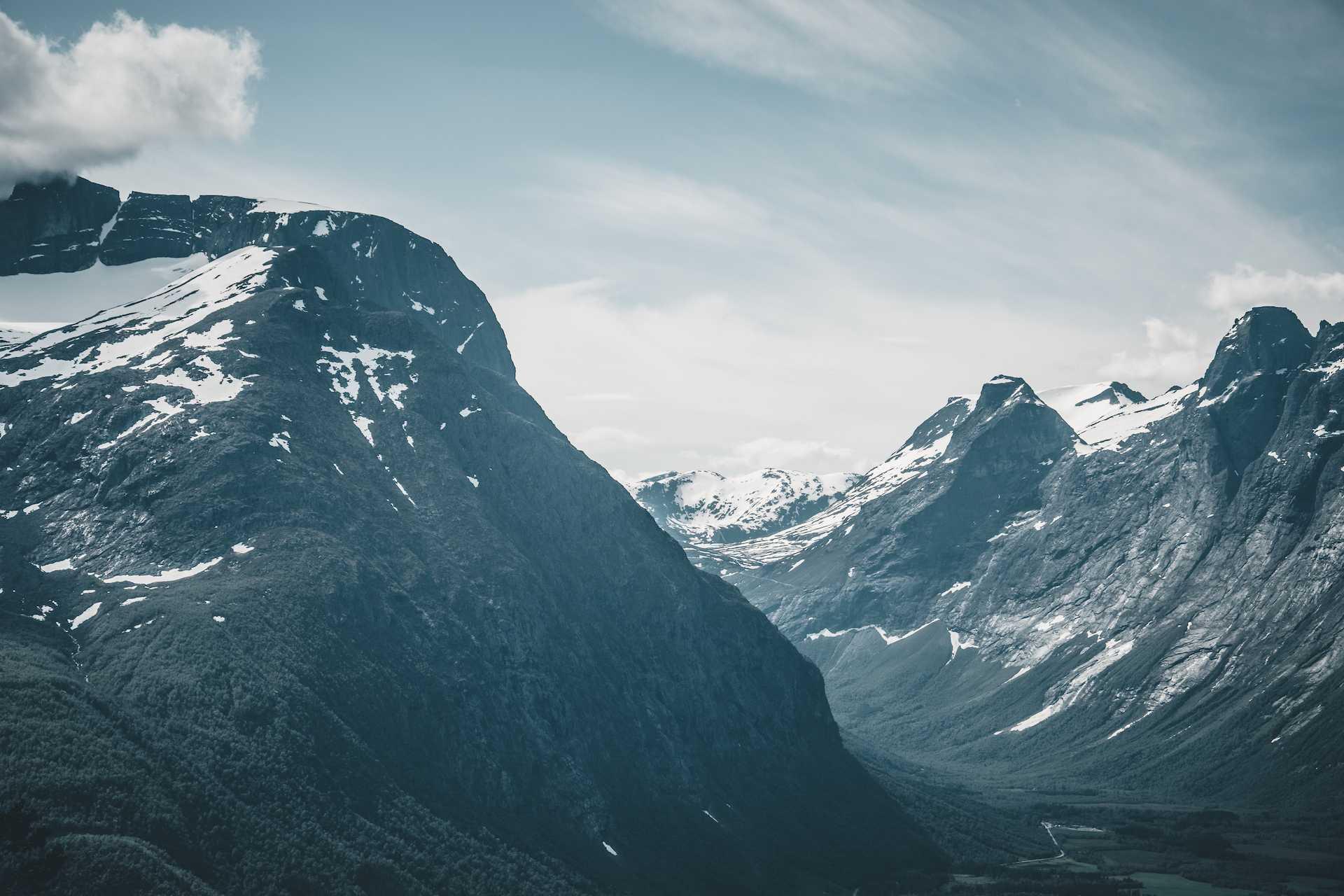 Åndalsnes góry