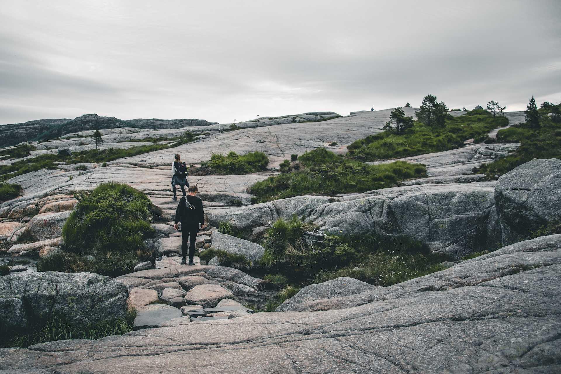 Preikestolen norwegia trasa