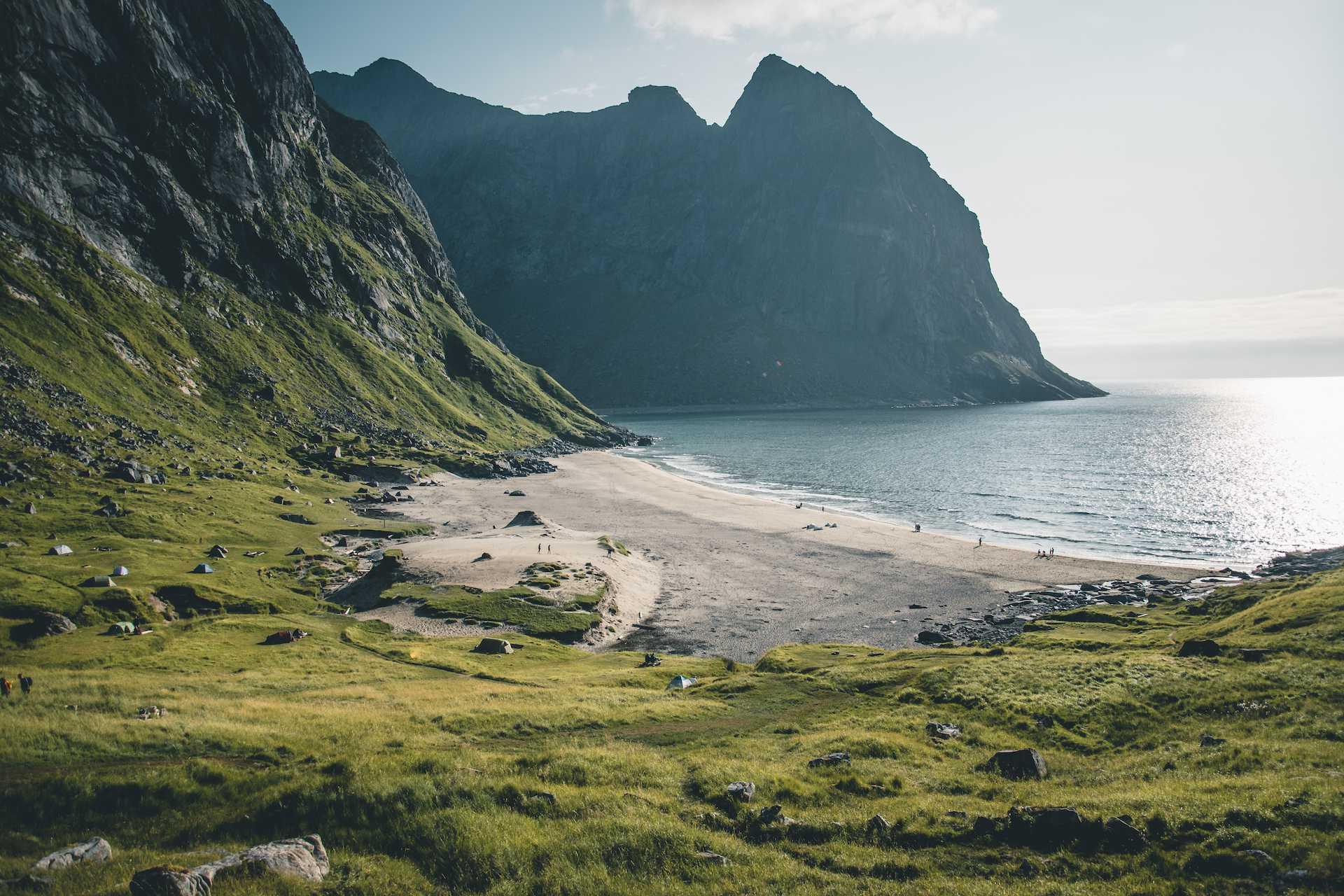 plaża Kvalvika