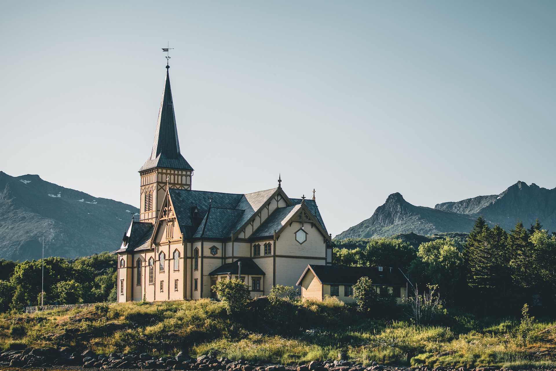 kościół Kabelvag
