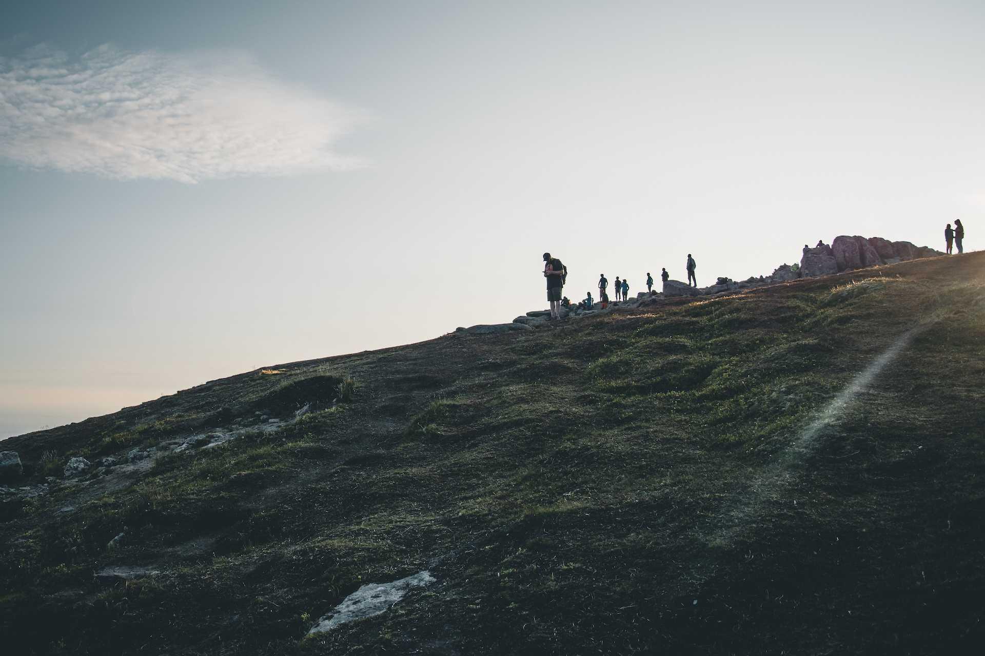 Ryten trekking