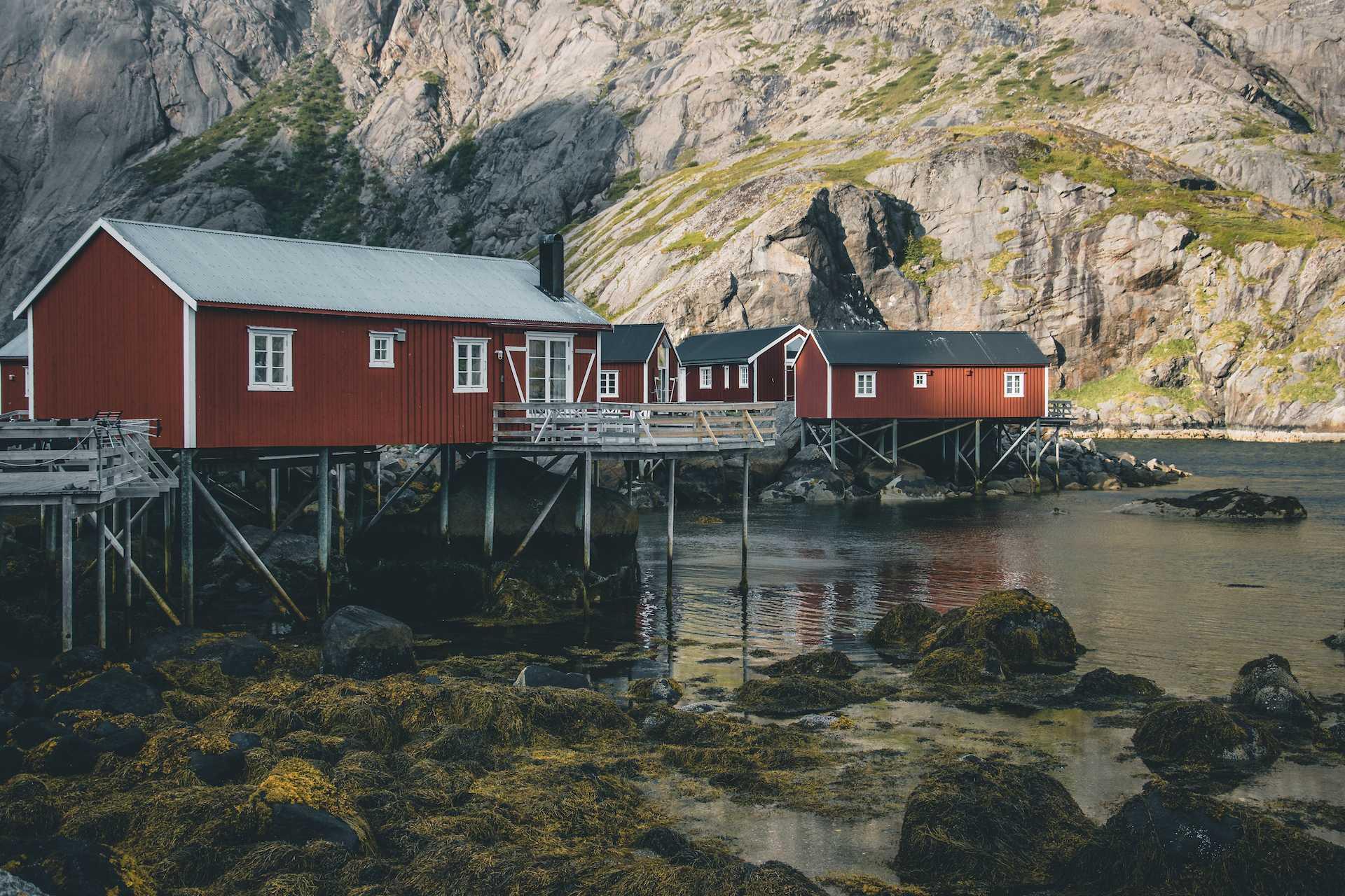 Nusfjord Lofoty