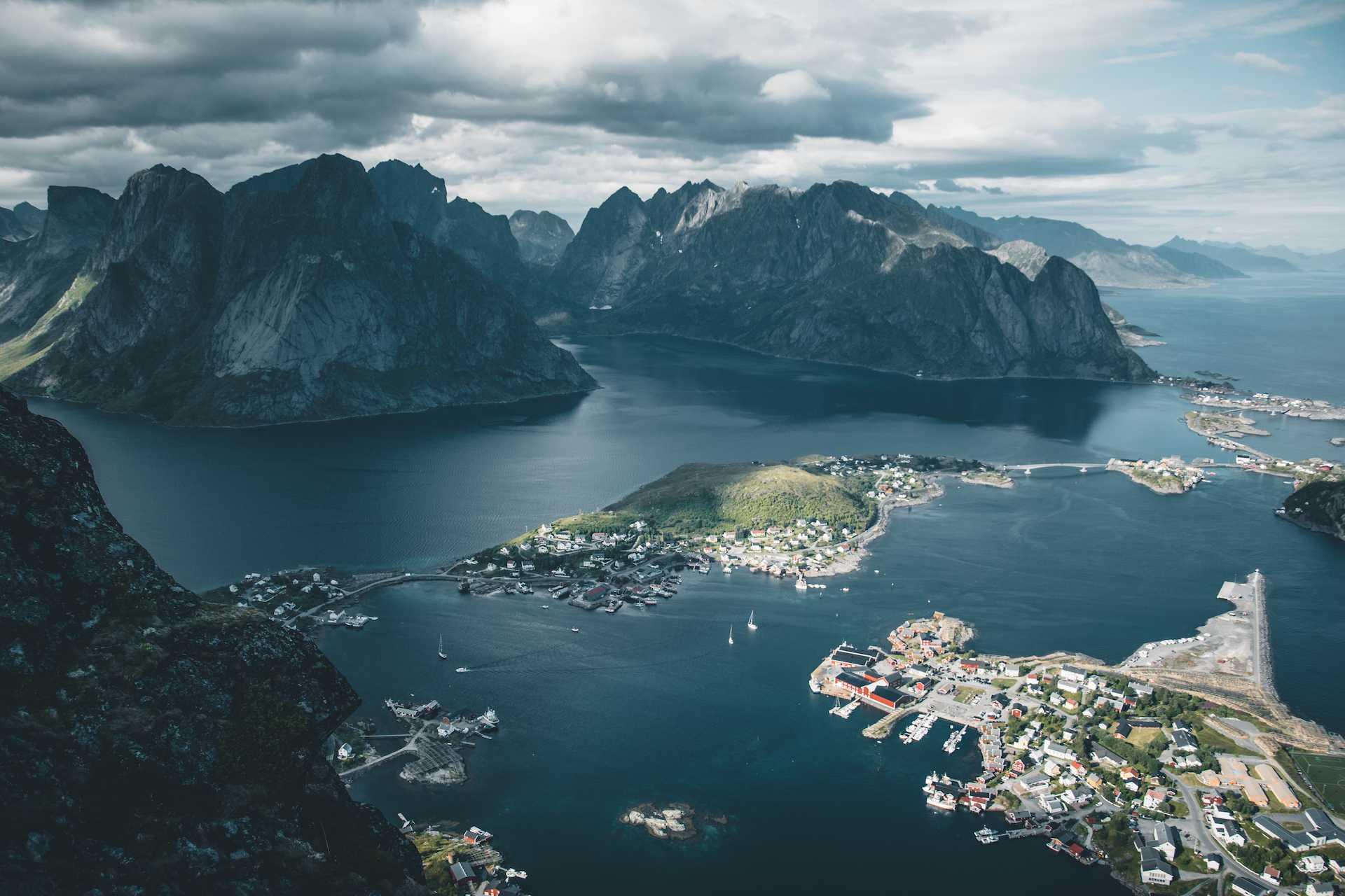Lofoty Archipelag wNorwegii