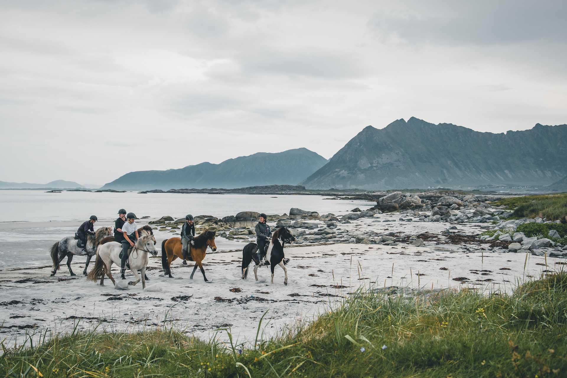 Gimsøy plaża