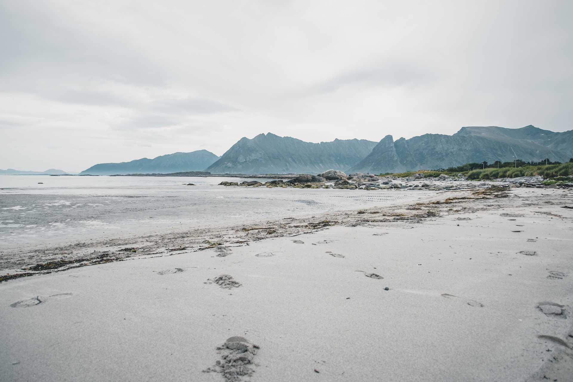 lofoty plaża
