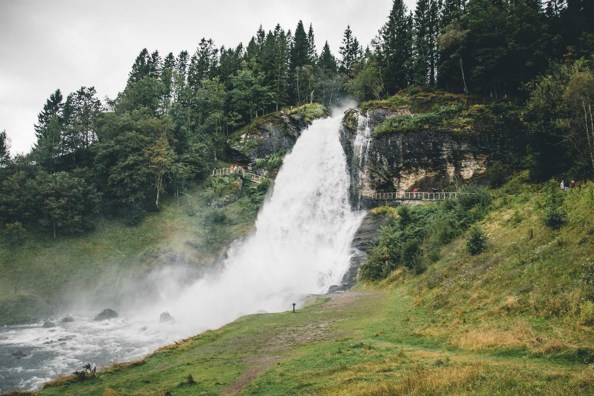 Steinsdalsfossen wodospad