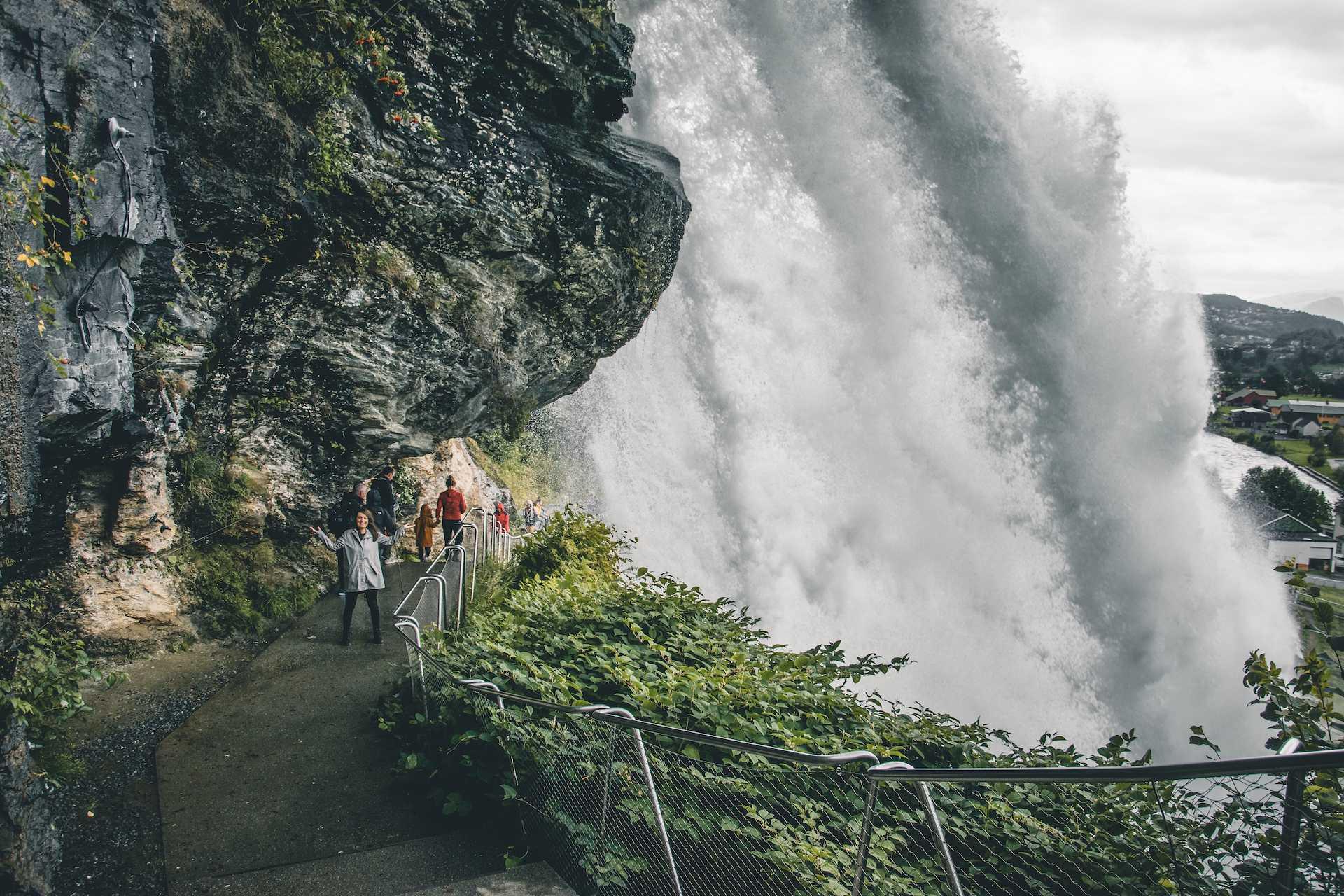 wodospad Steinsdalsfossen