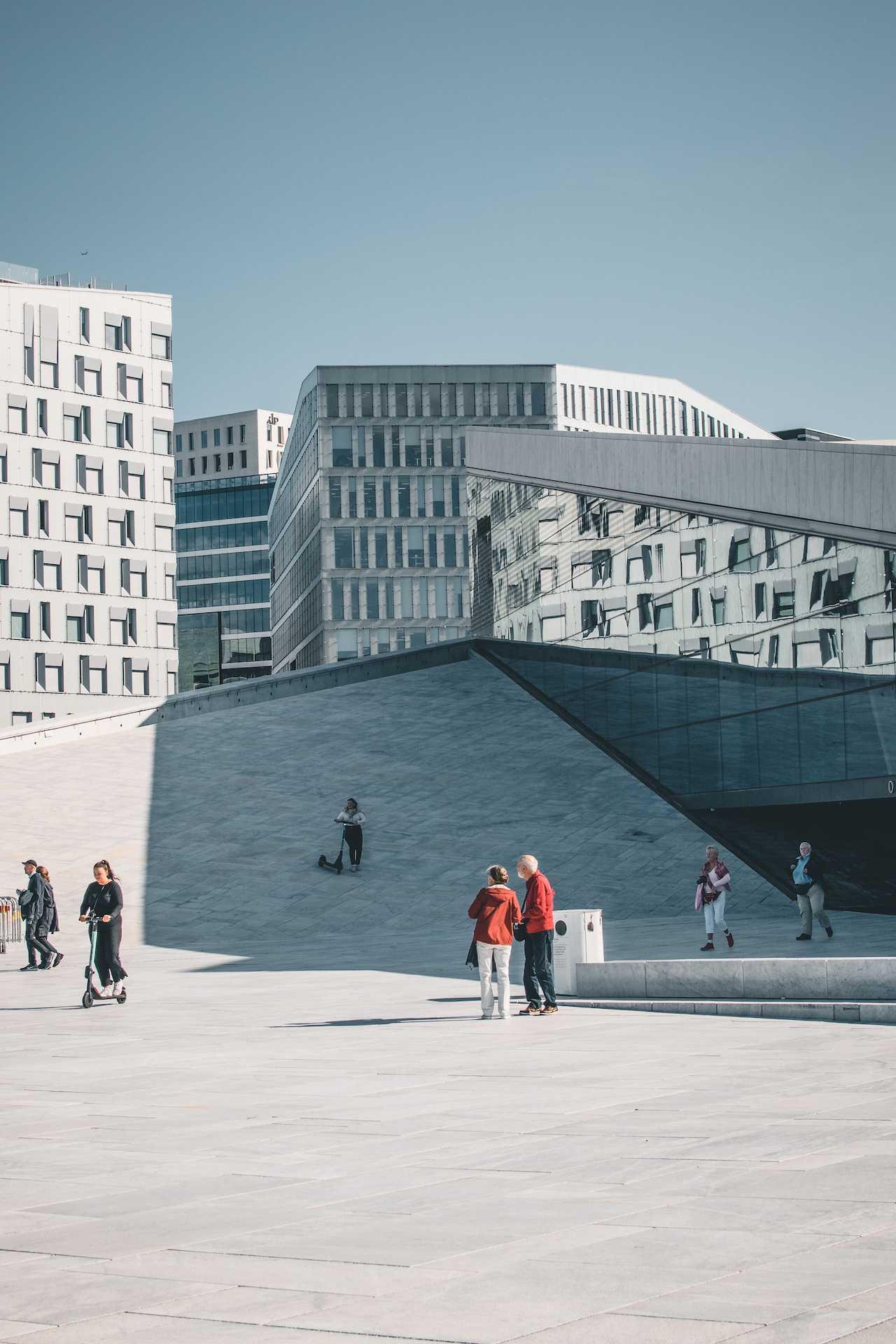 budynki Oslo