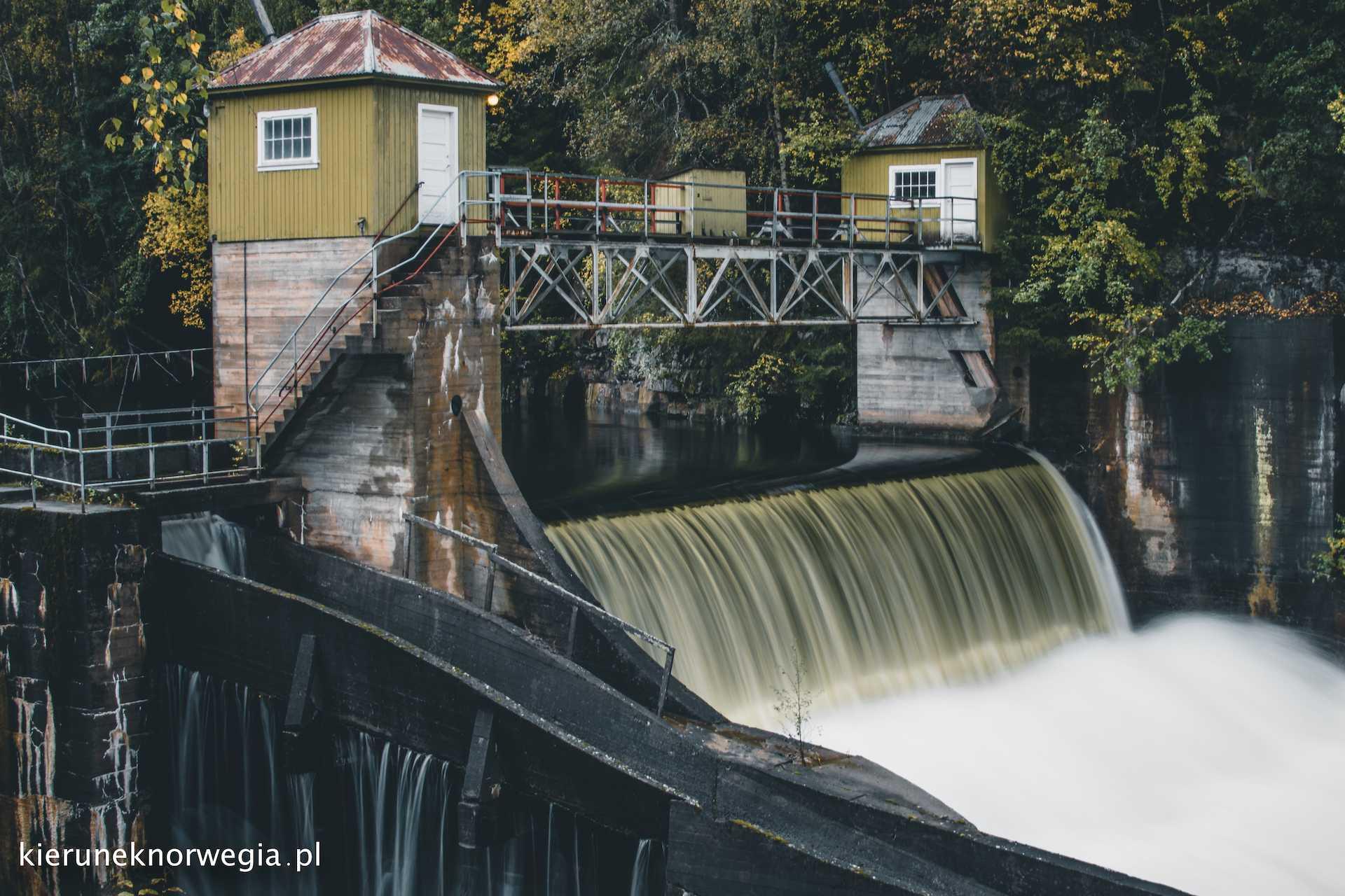 elektrownia wodna Kistefos