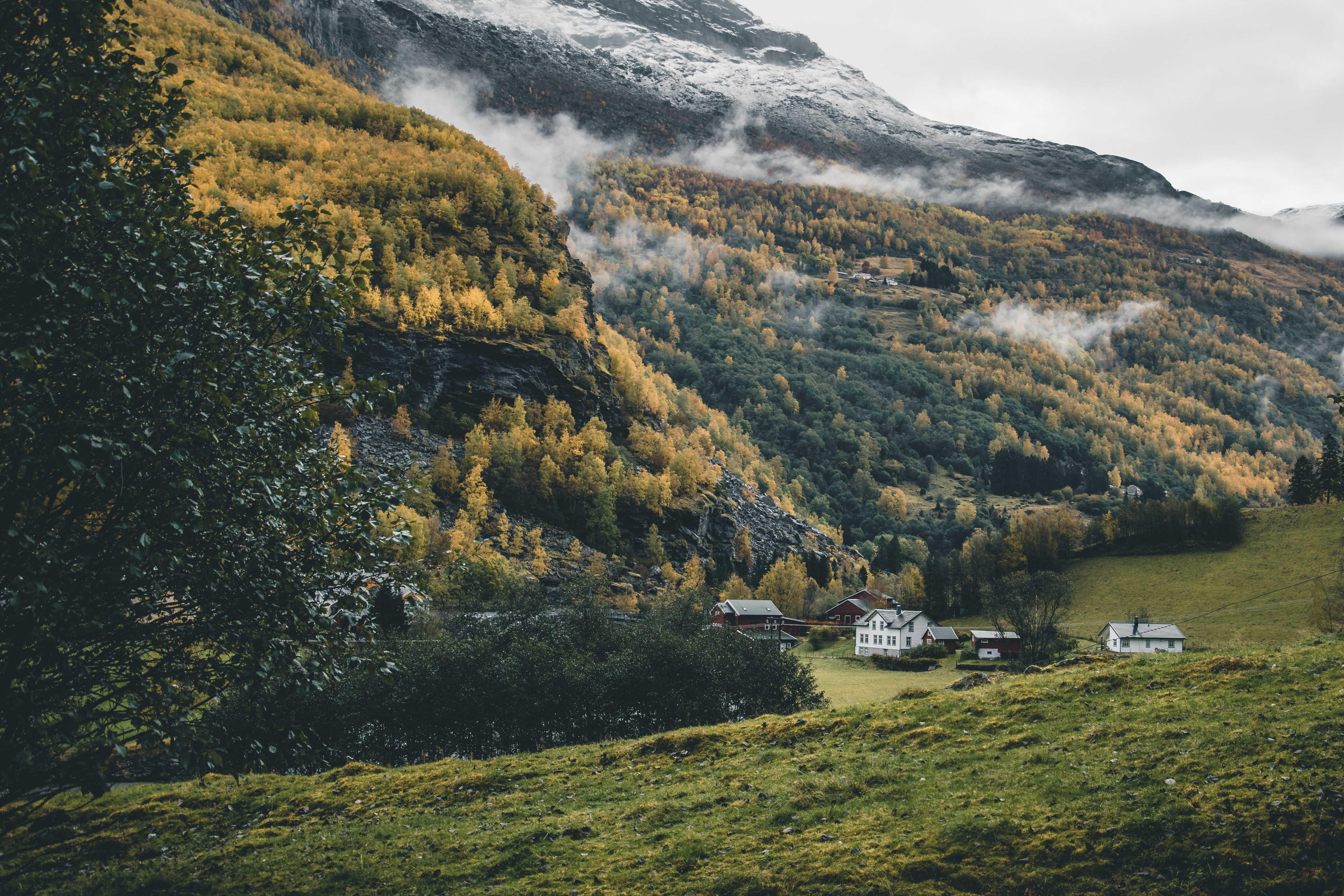 Norwegia jesień