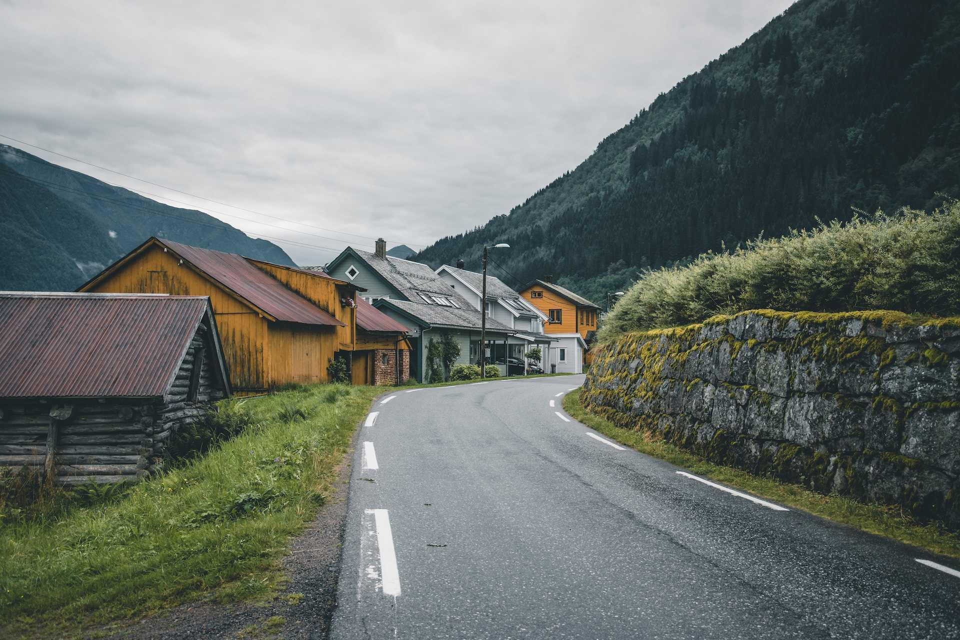 Fjærland okolice