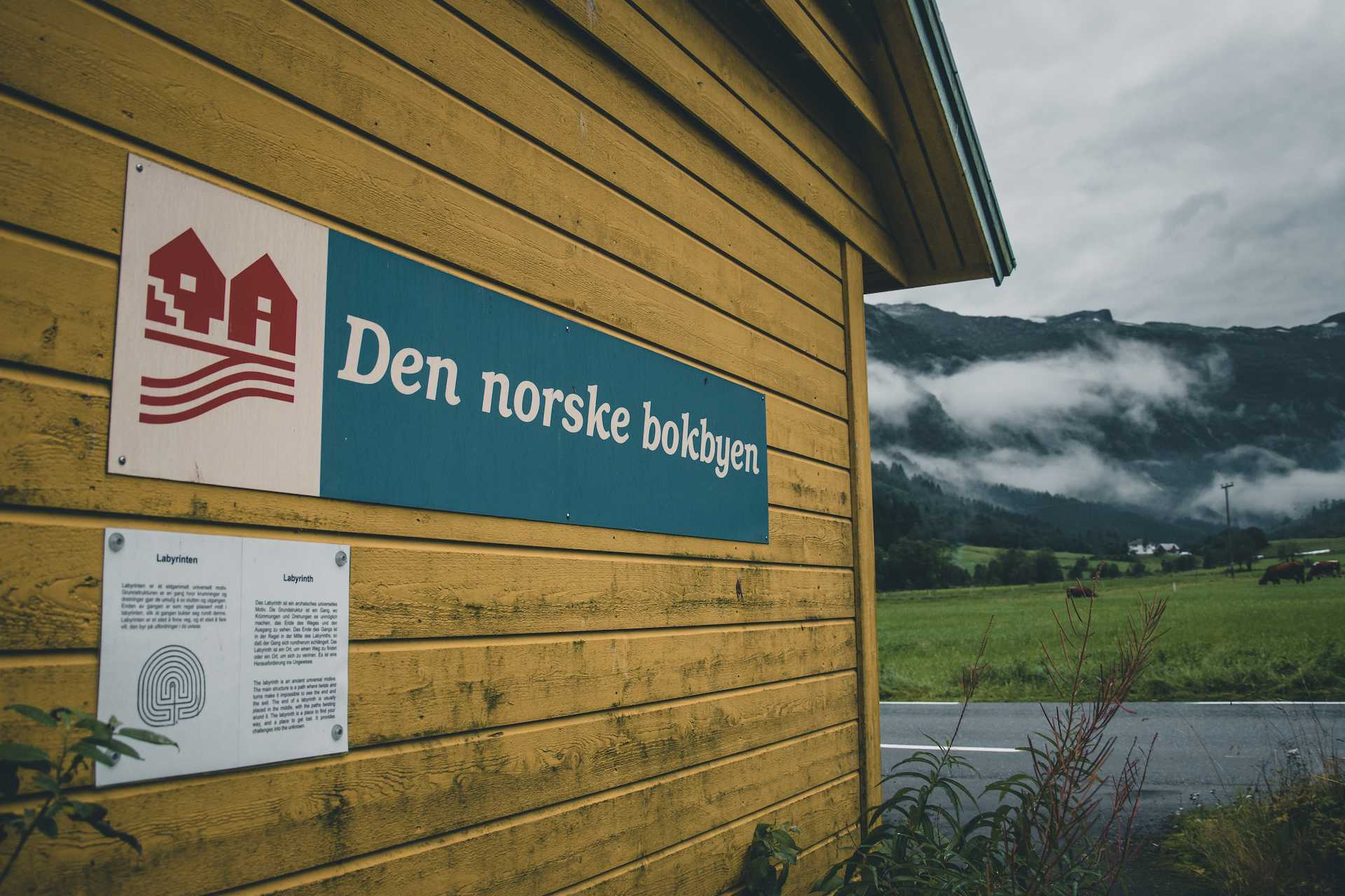 norweskie miasto książek