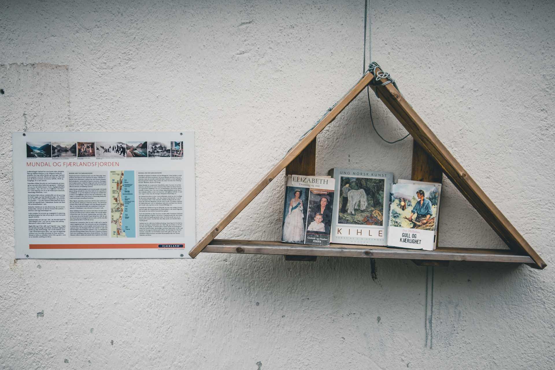 Fjærland miasto książek