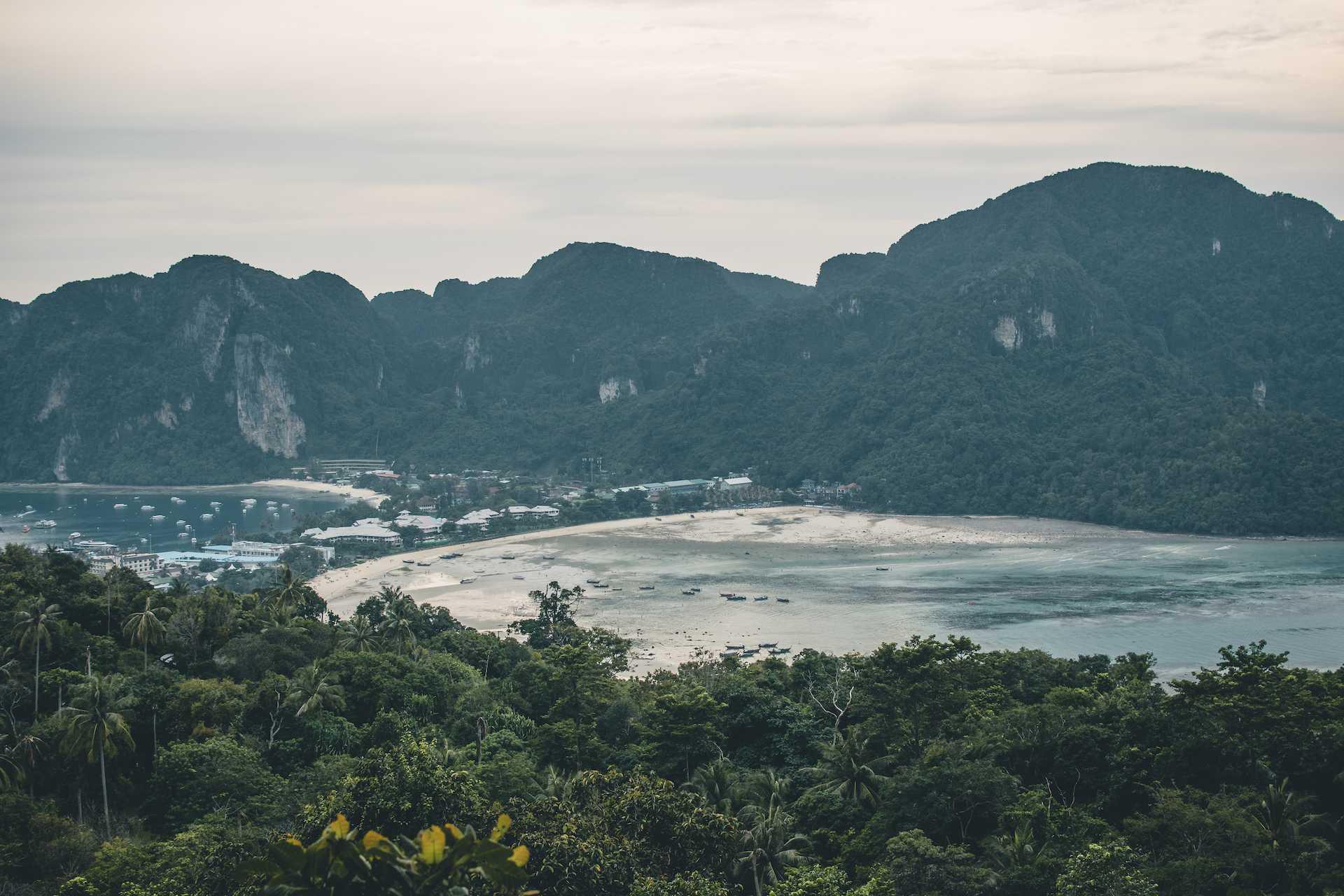 Phi Phi punkt widokowy 3