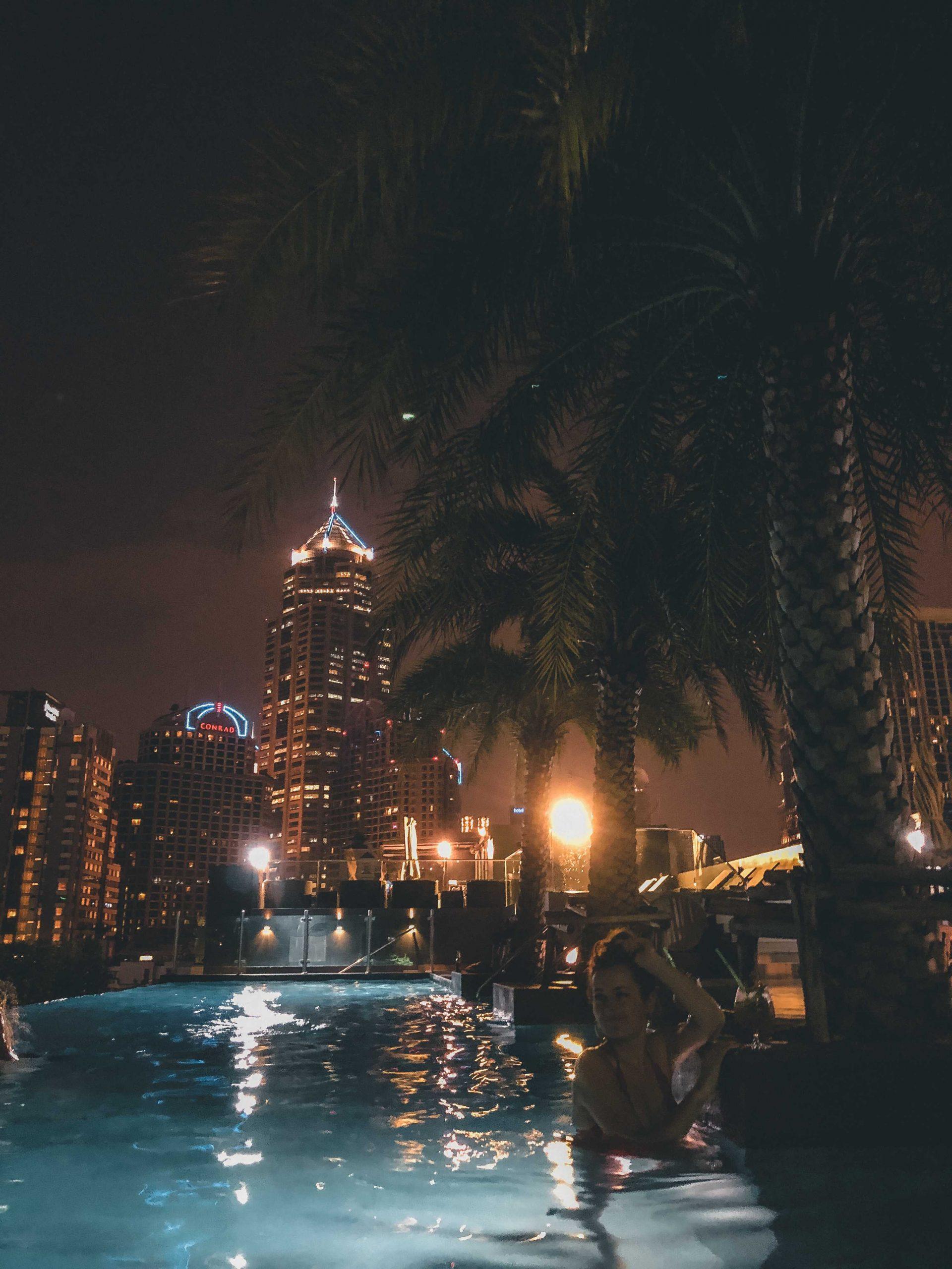 hotel zbasenem Bangkok