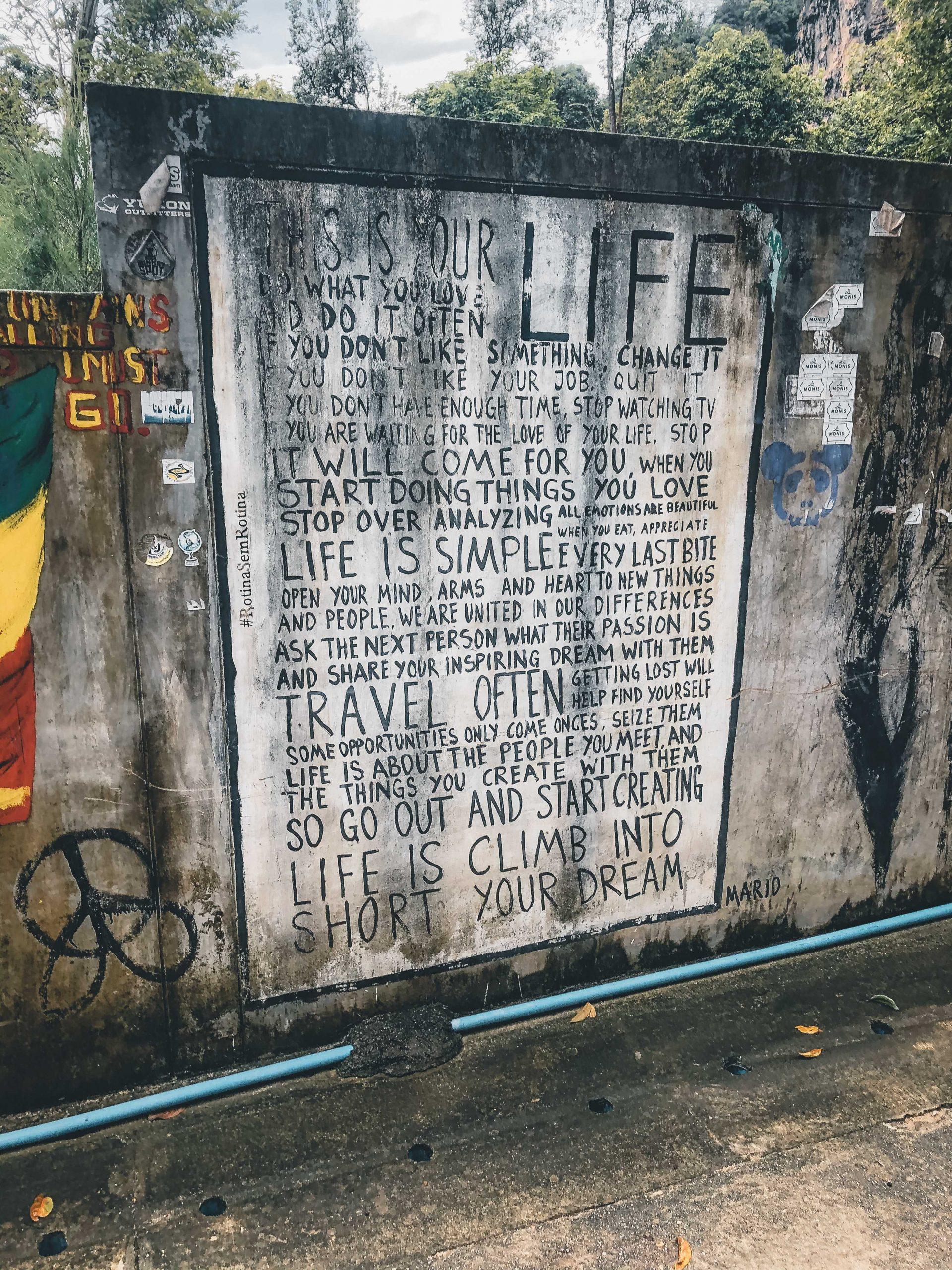 Graffiti Tajlandia