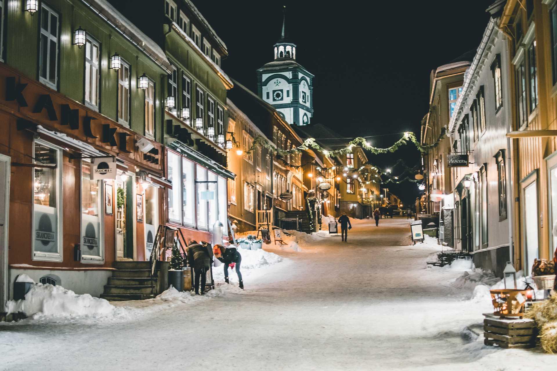 Jarmark bożonarodzeniowy Røros