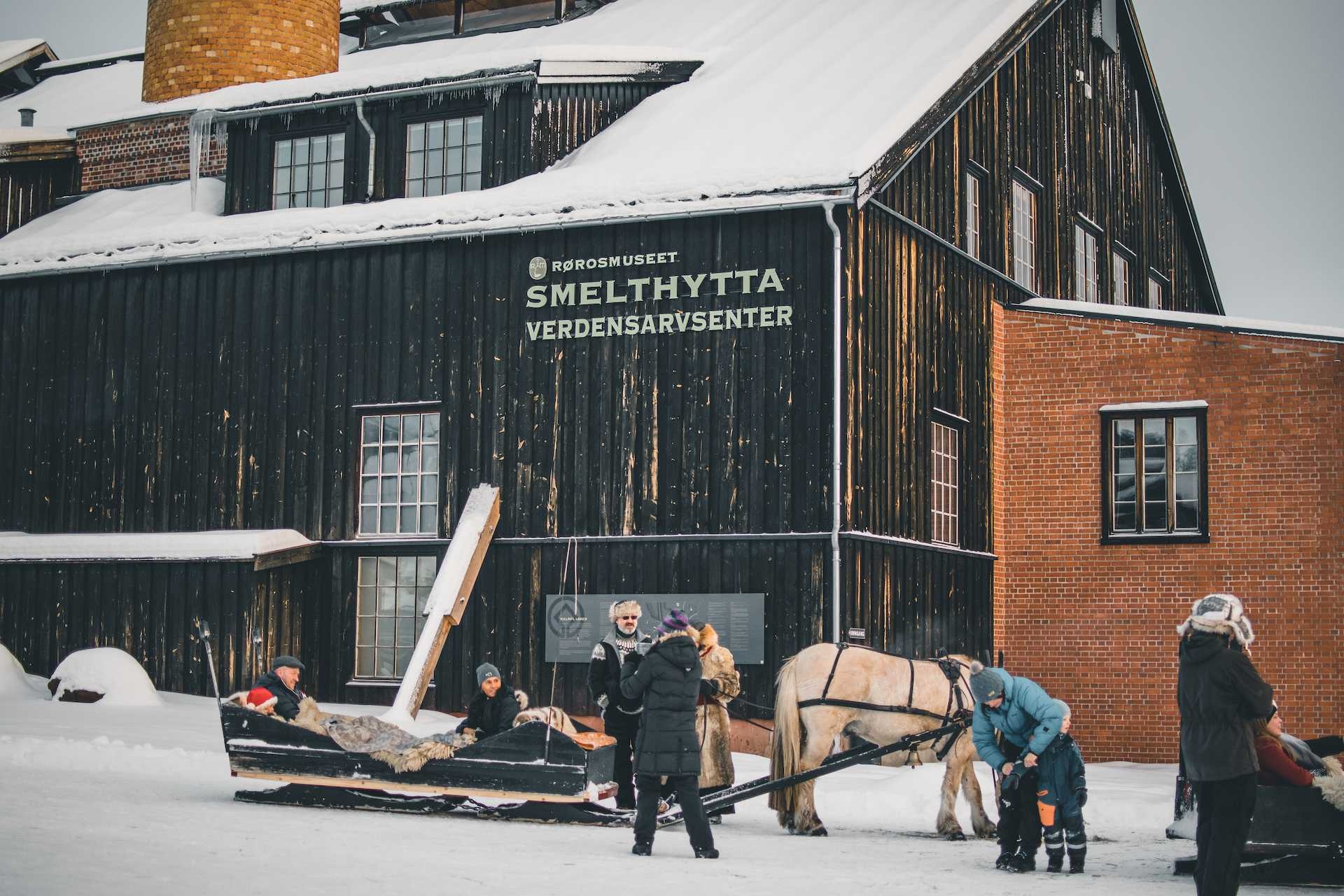 muzeum Røros Norwegia