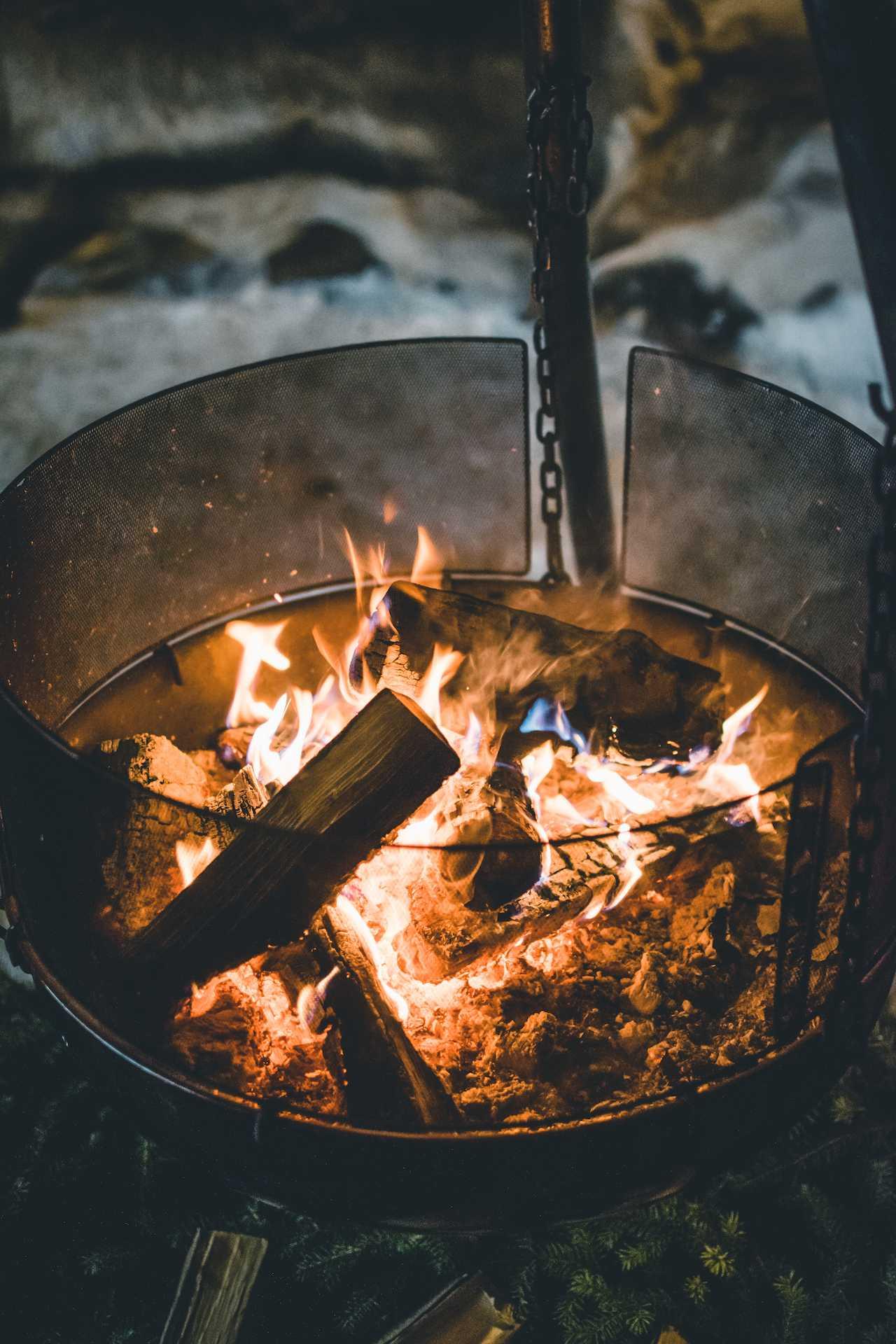 ogniska wNorwegii