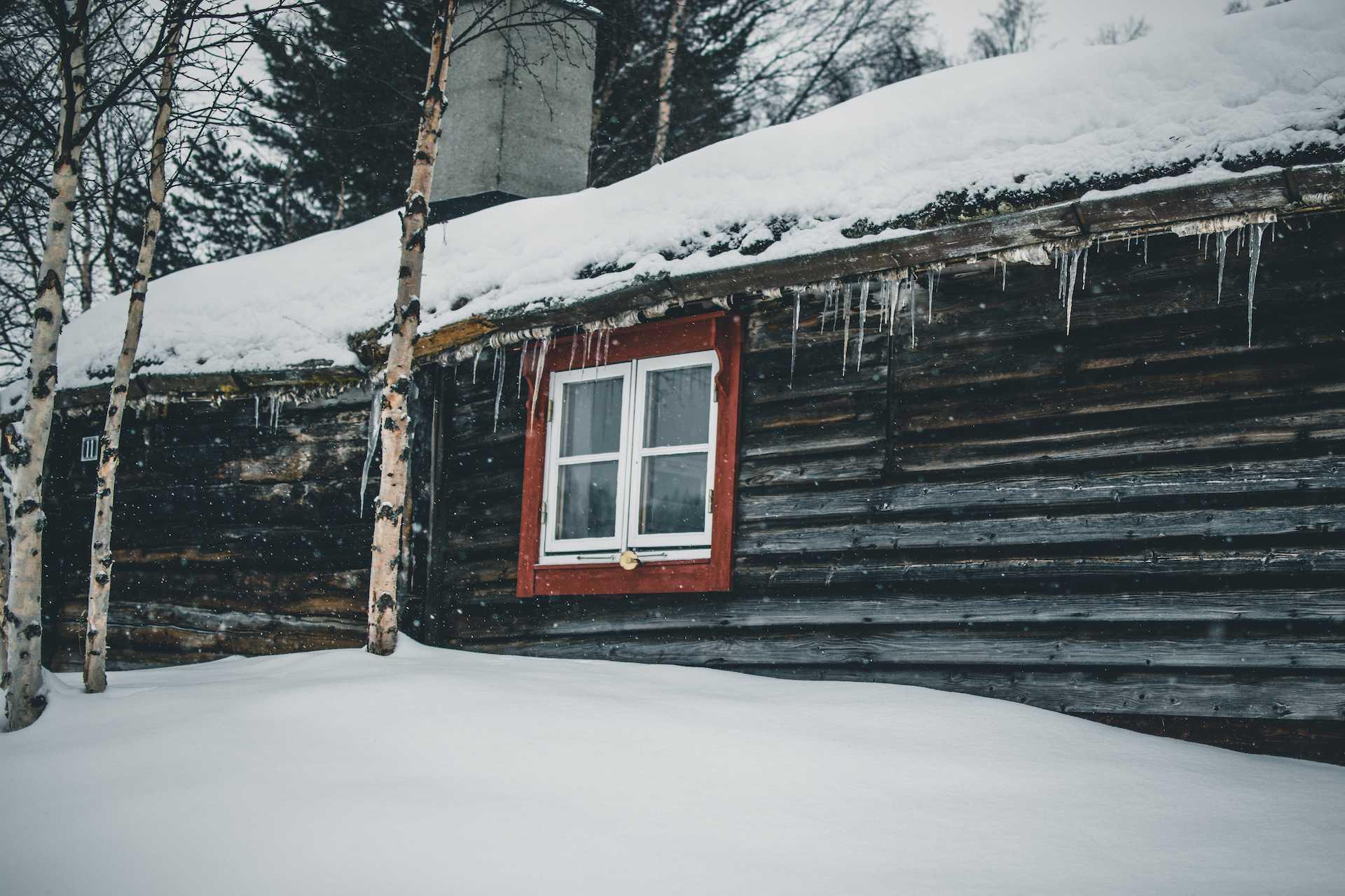 zima wNorwegii