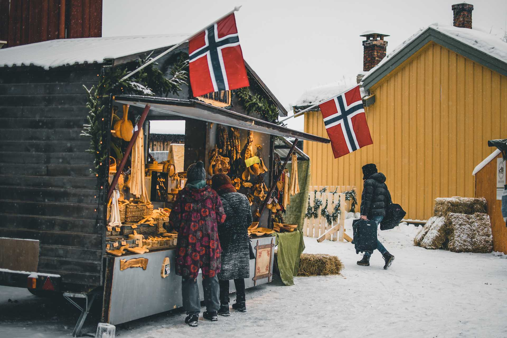stoiska jarmark Norwegia