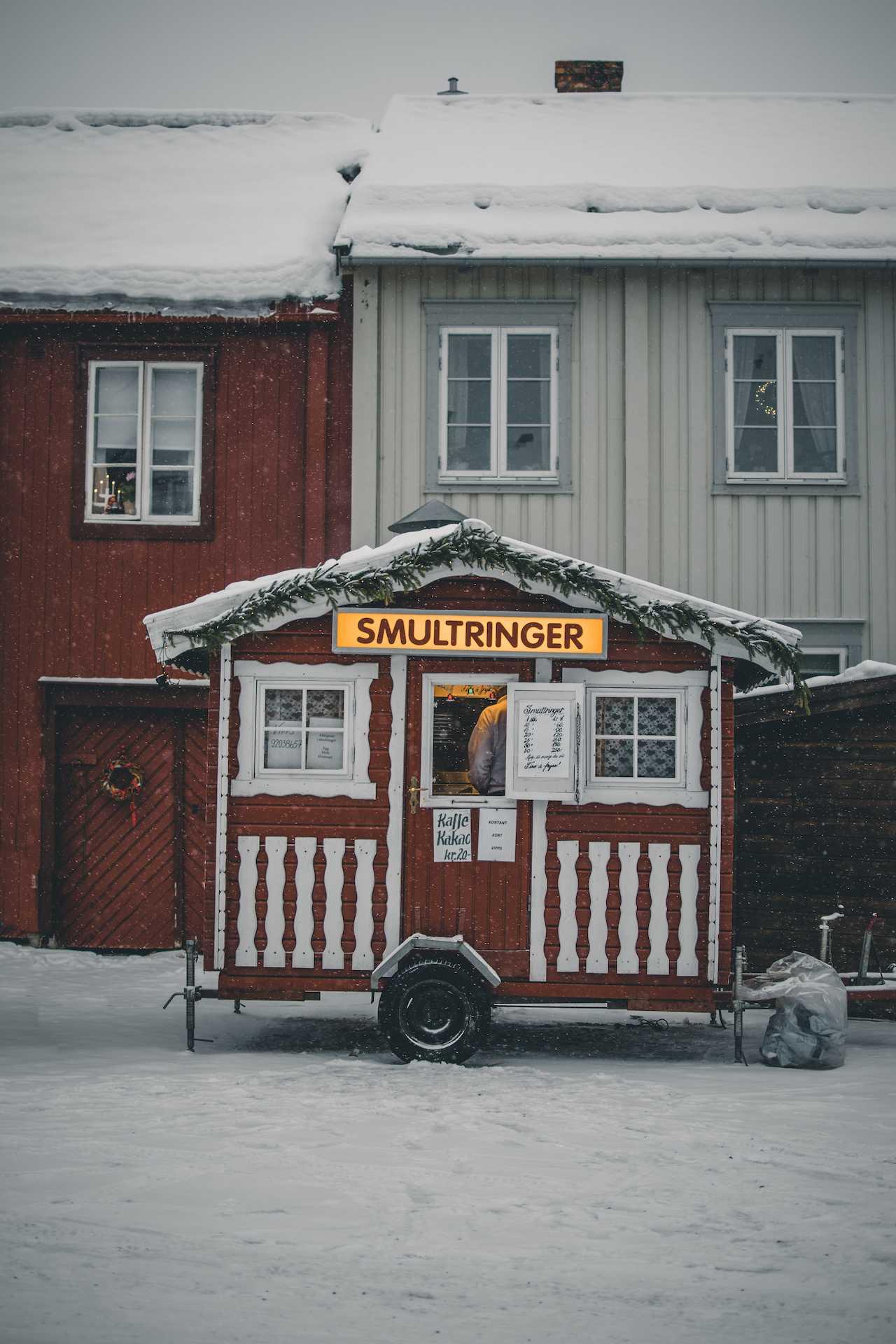 norweskie słodycze