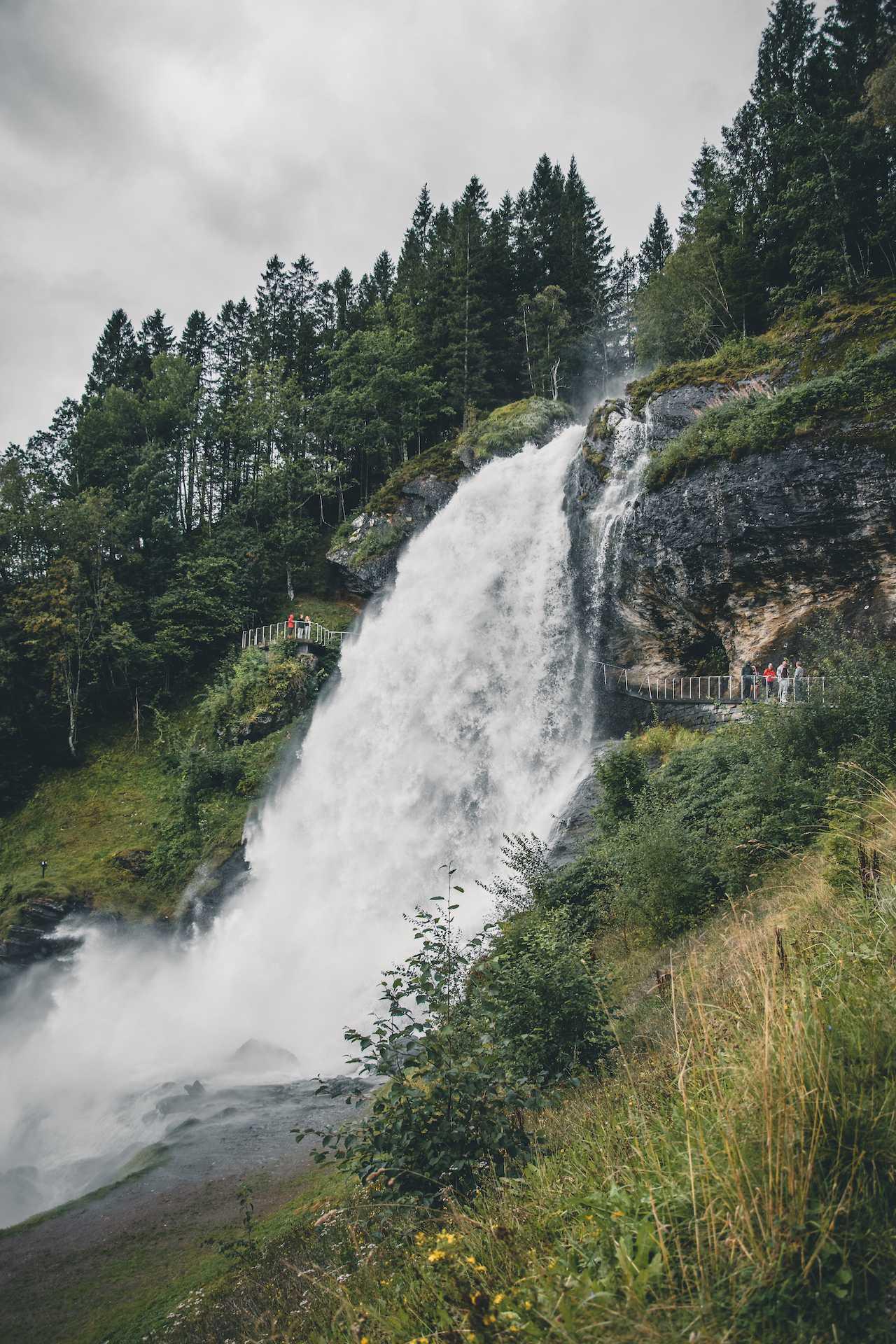 wrzesień Norwegia pogoda