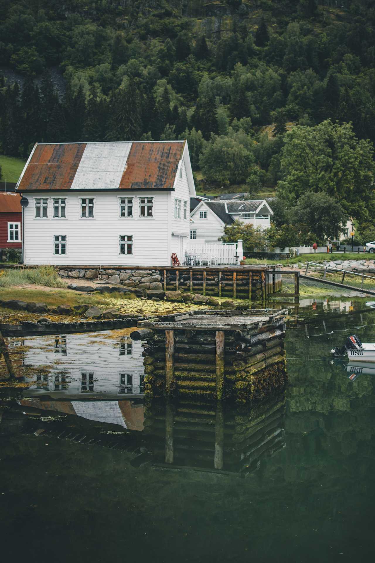 sierpień Norwegia