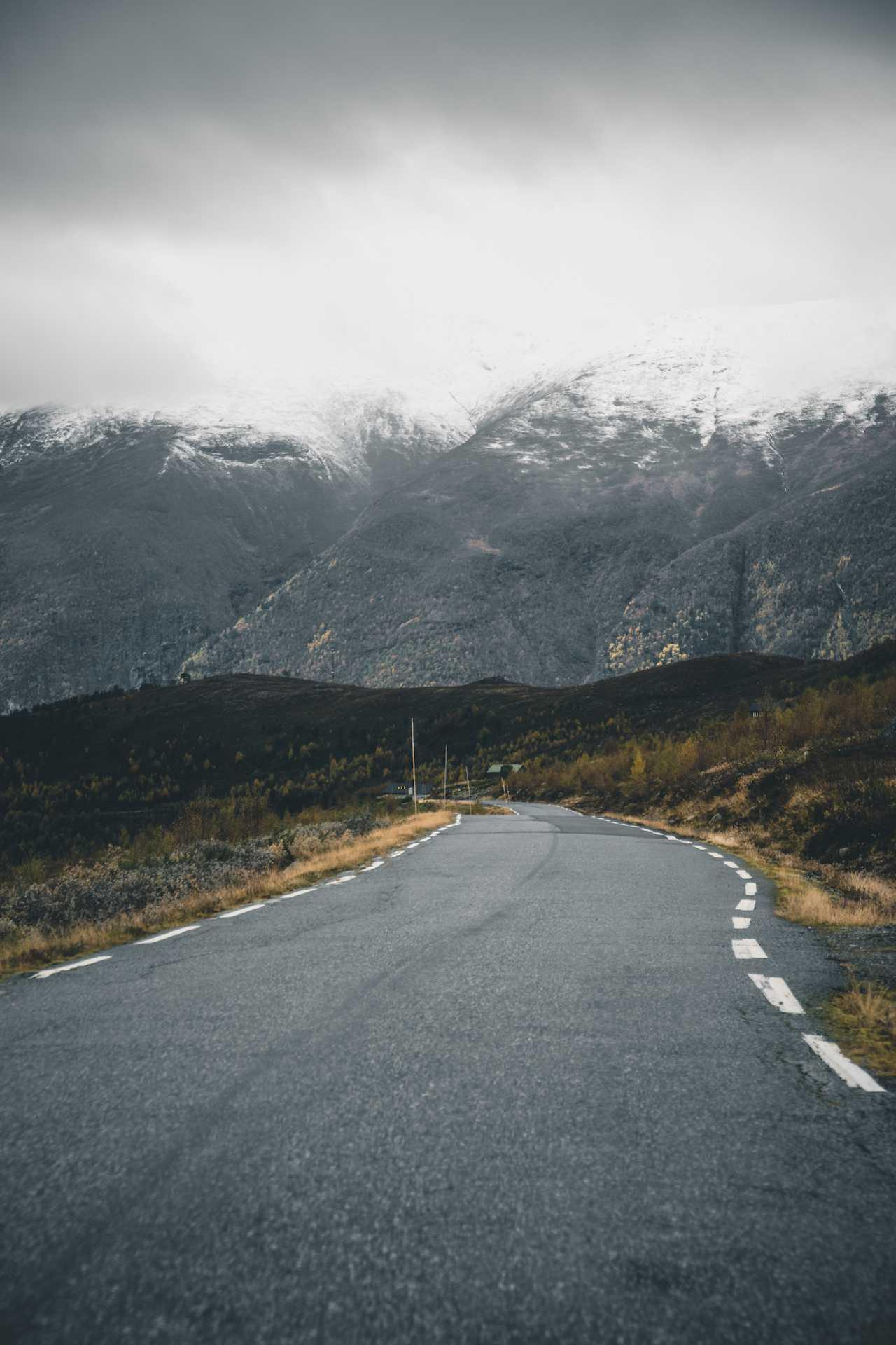 Droga Śnieżna jesienią